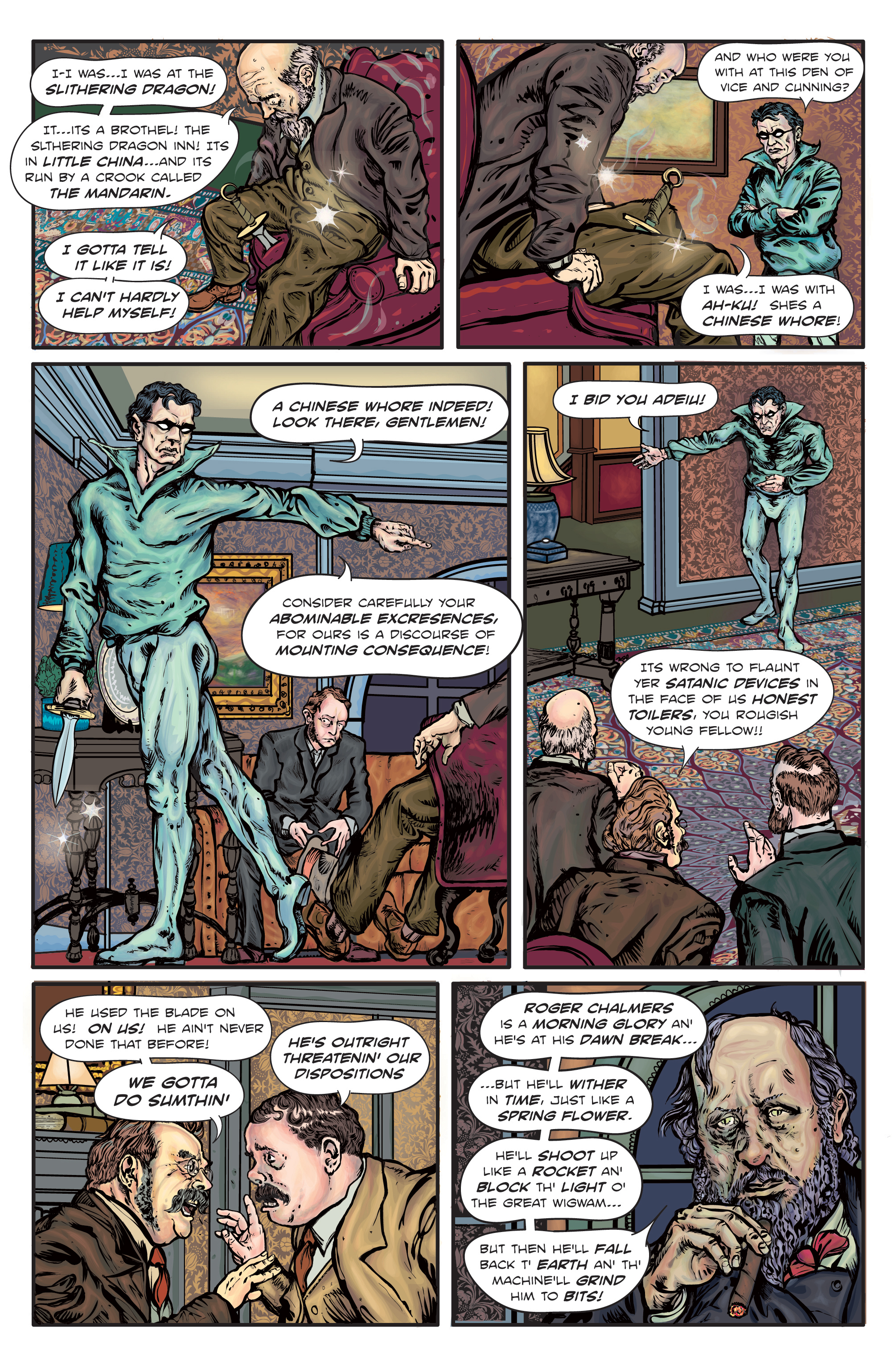 Enchanted Dagger #1 – Page 3