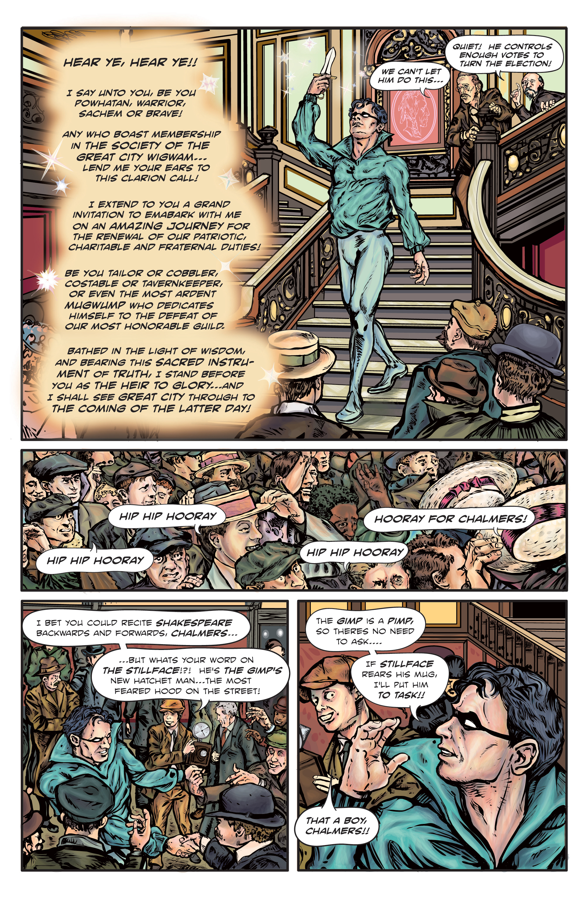 Enchanted Dagger #1 – Page 4