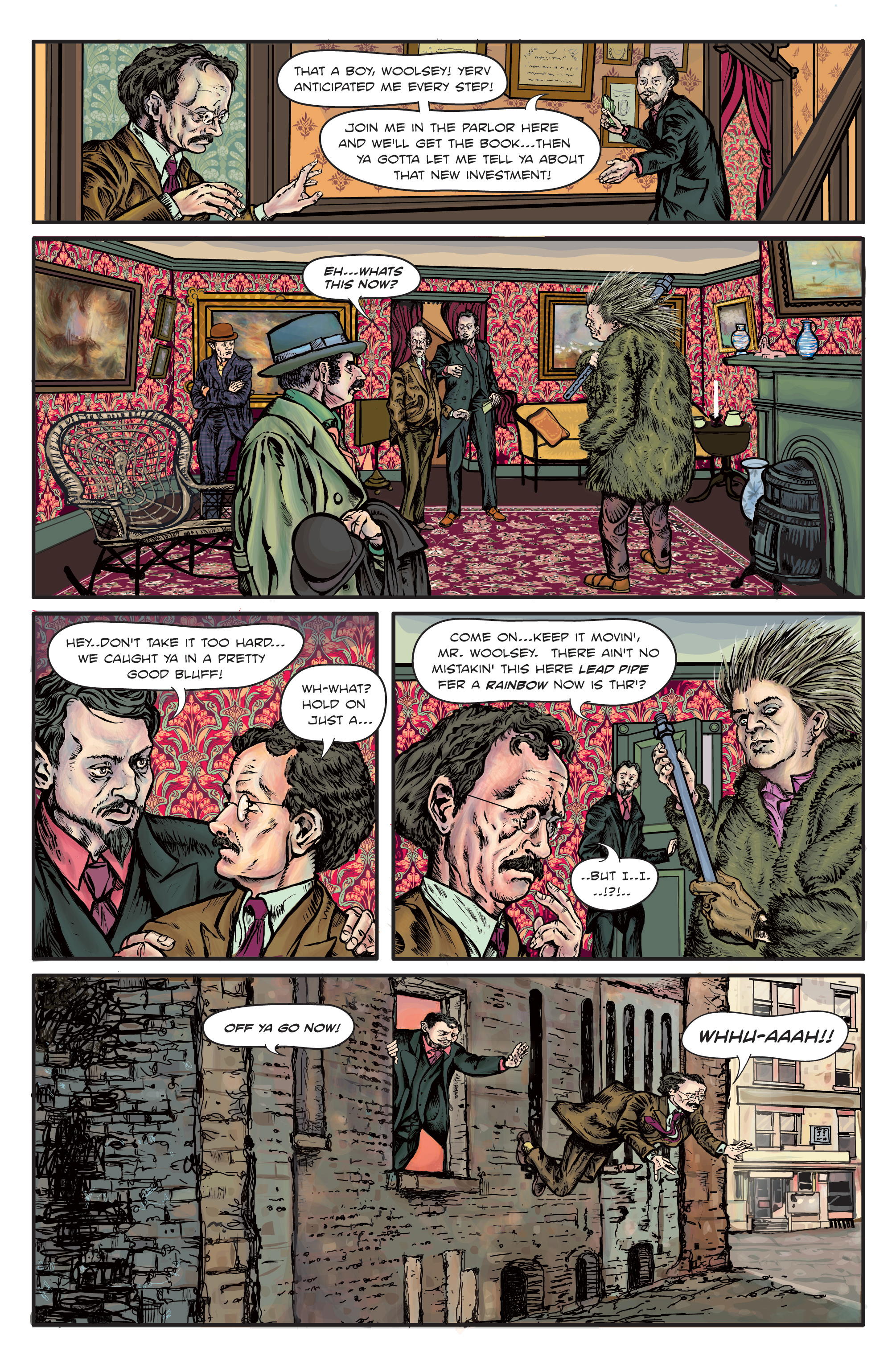 Enchanted Dagger #1 Page – 10