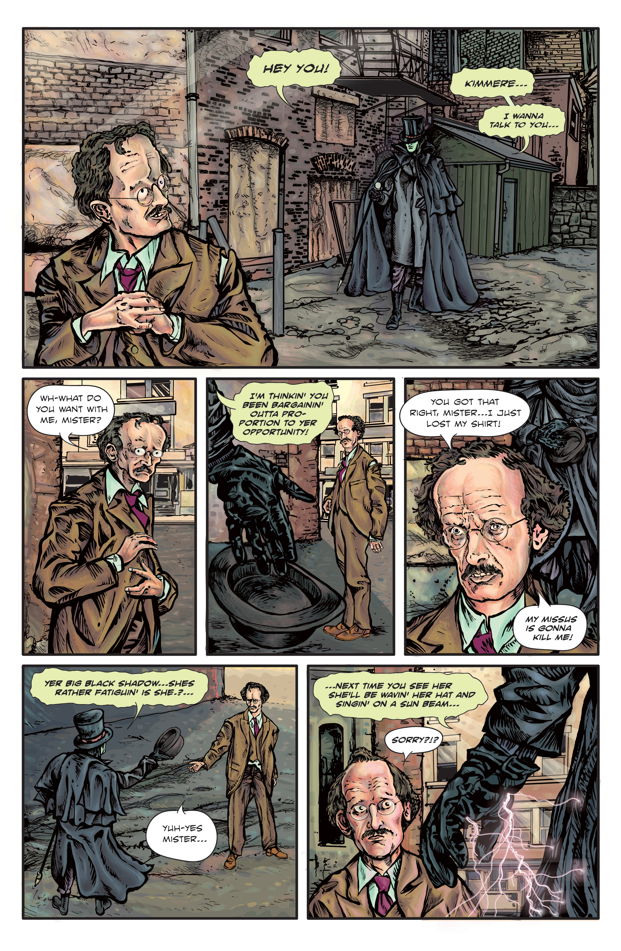 The Enchanted Dagger #1 Page – 11