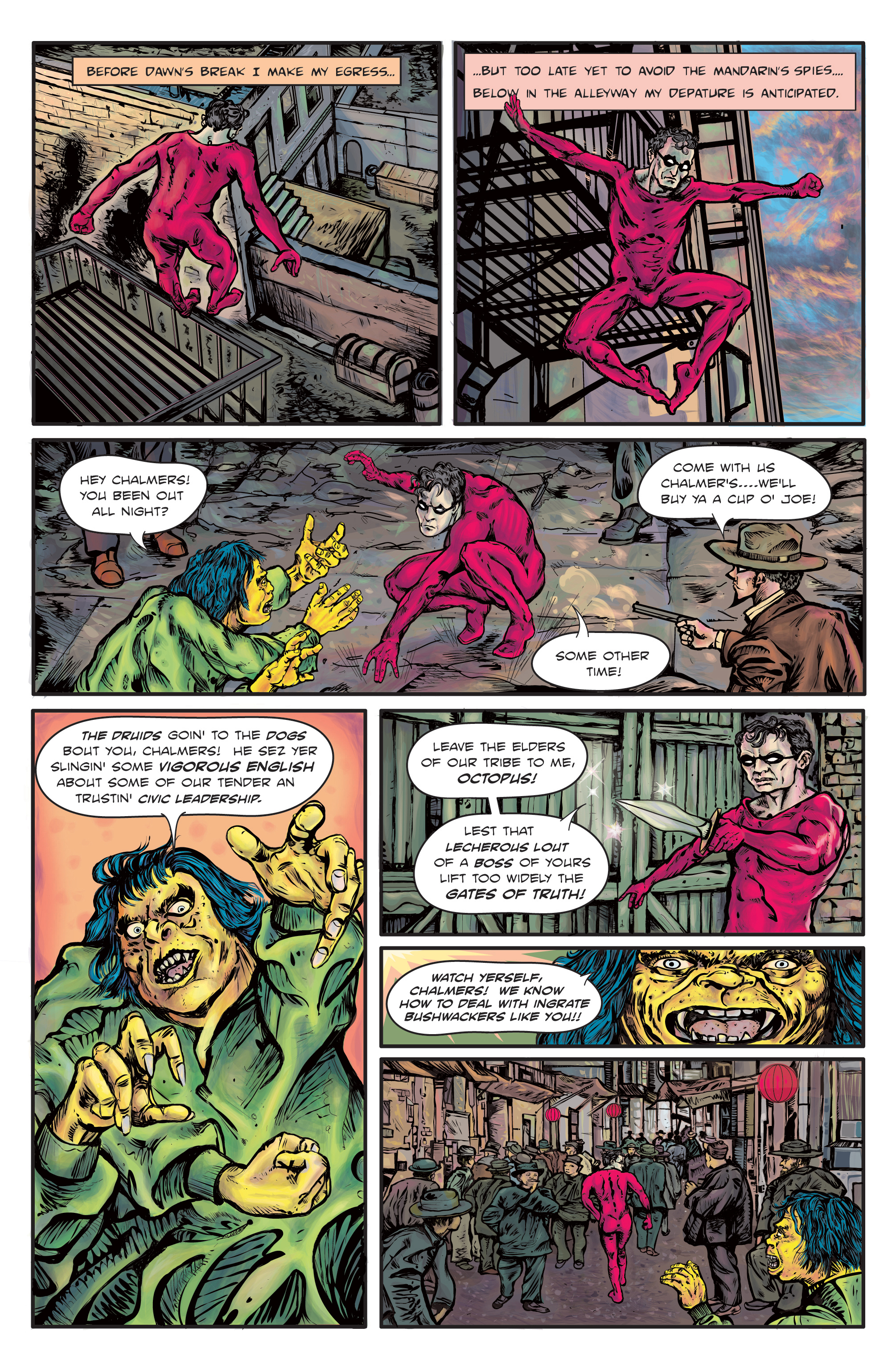 The Enchanted Dagger #1 – Page 8