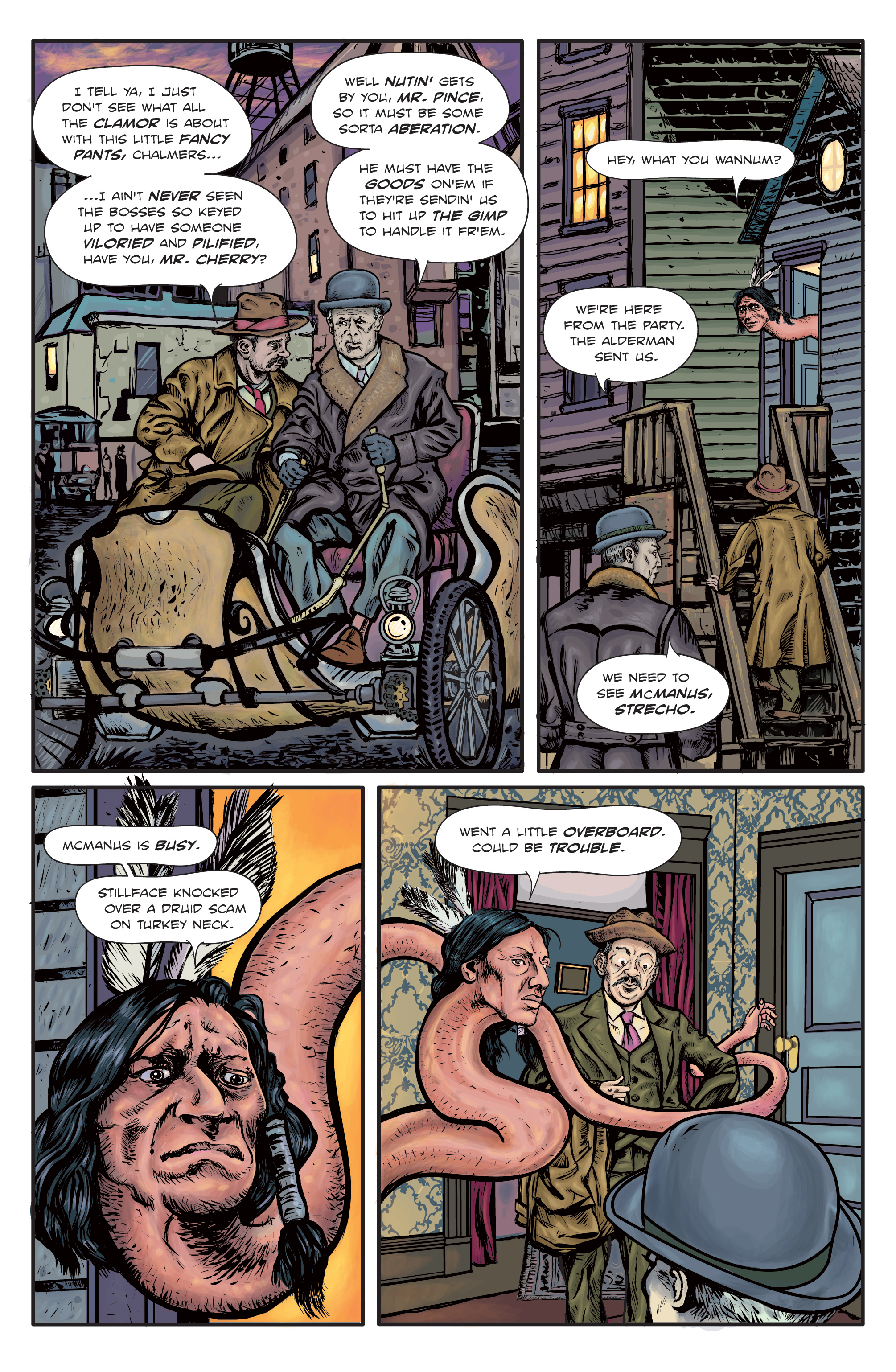 The Enchanted Dagger #1 – Page 21