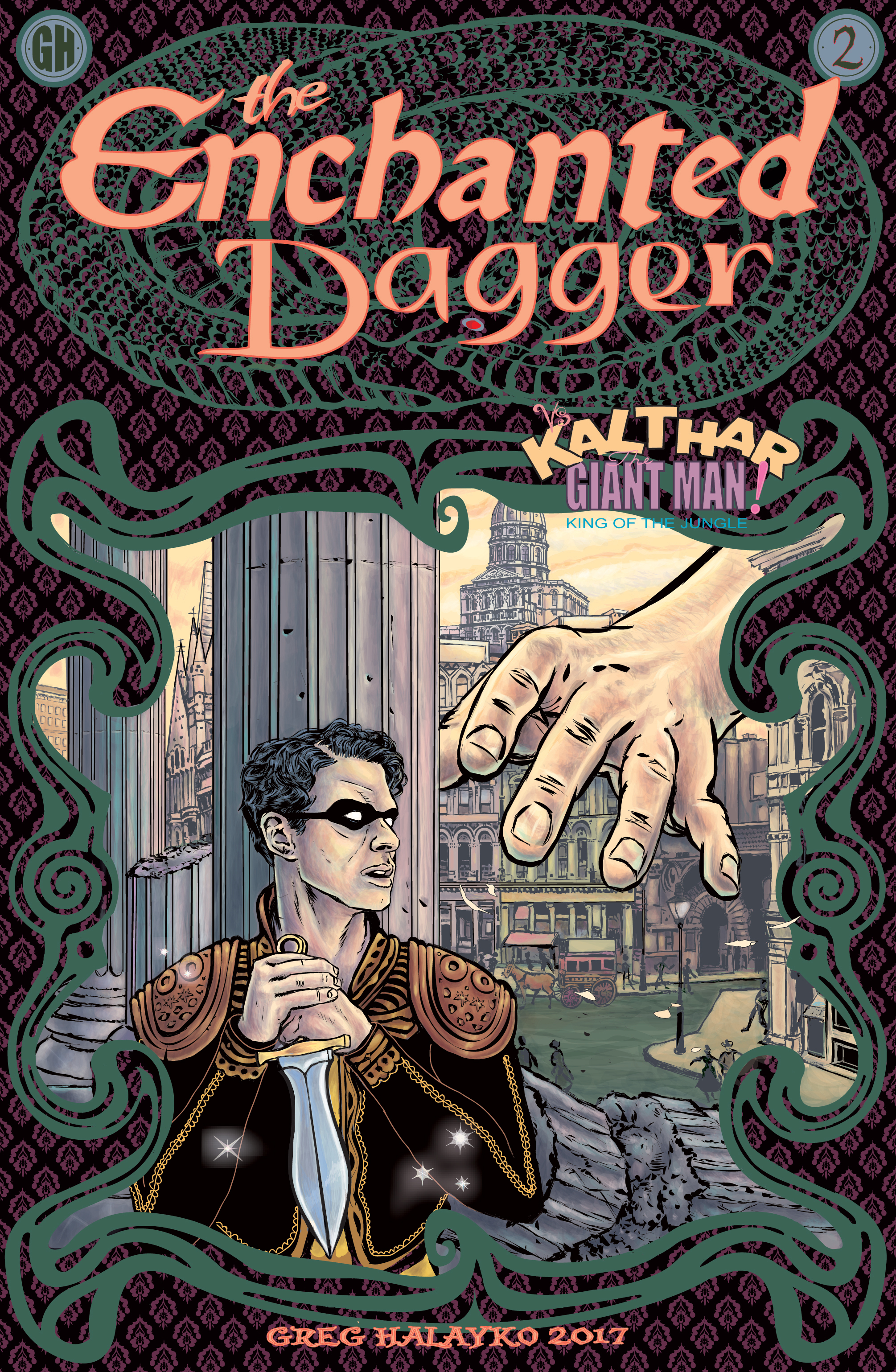 The Enchanted Dagger #2 – Cover