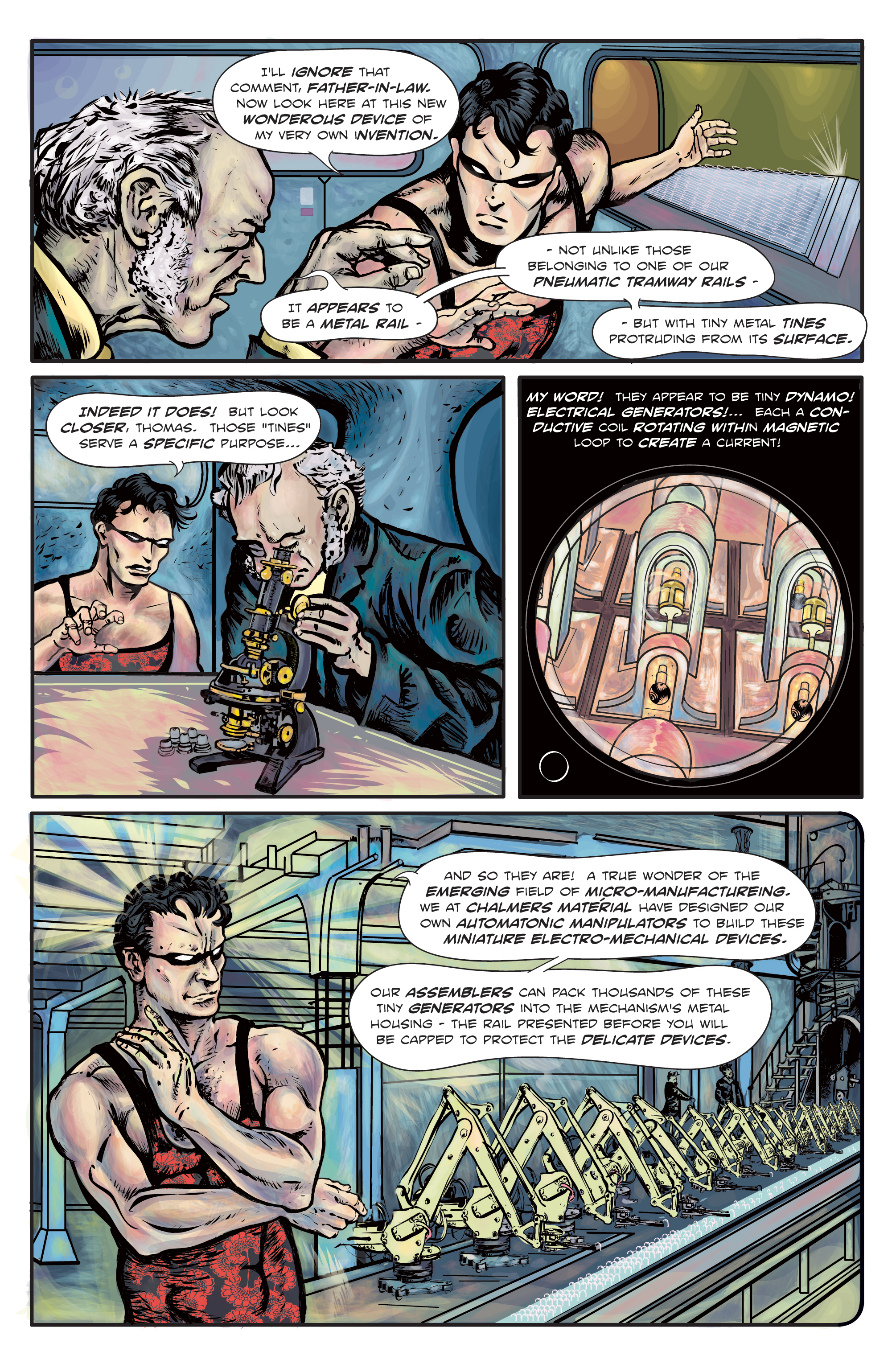 The Enchanted Dagger #2 – Page 2