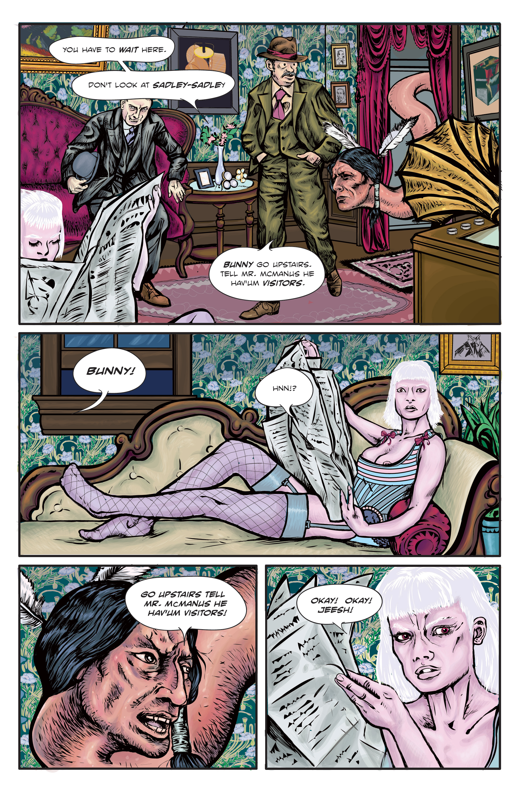 The Enchanted Dagger #1 – Page 22