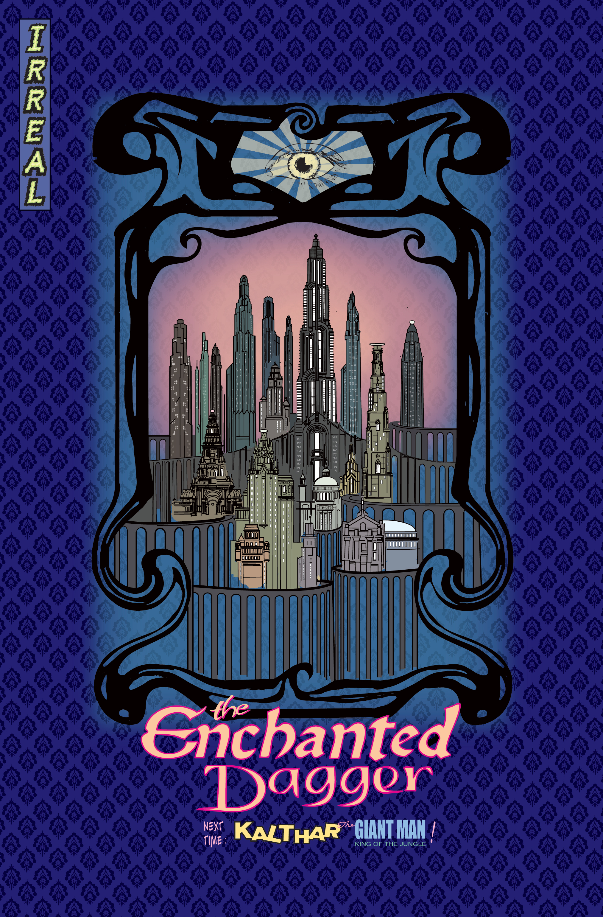The Enchanted Dagger #1 – Back Cover