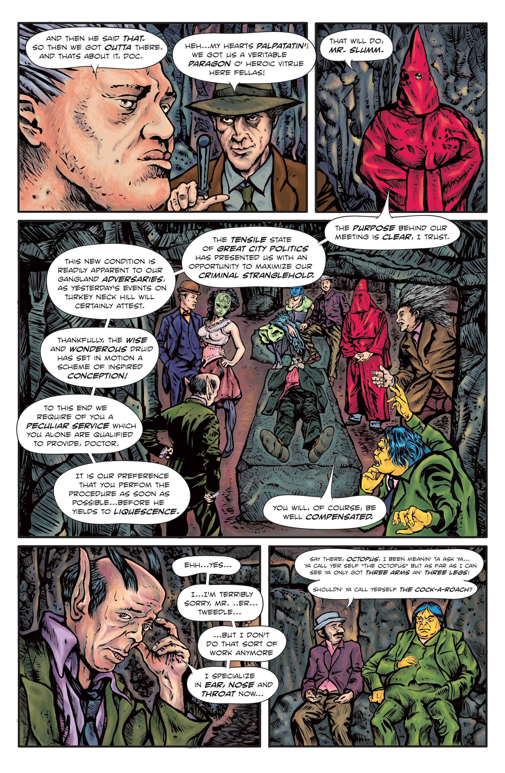 The Enchanted Dagger #2 – Page 22