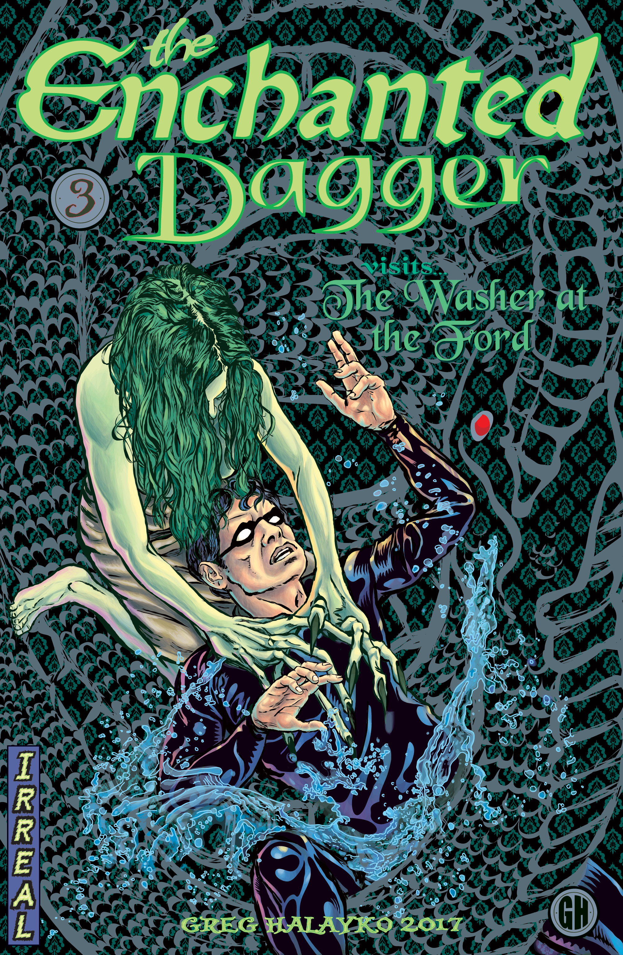 The Enchanted Dagger #3 – Cover