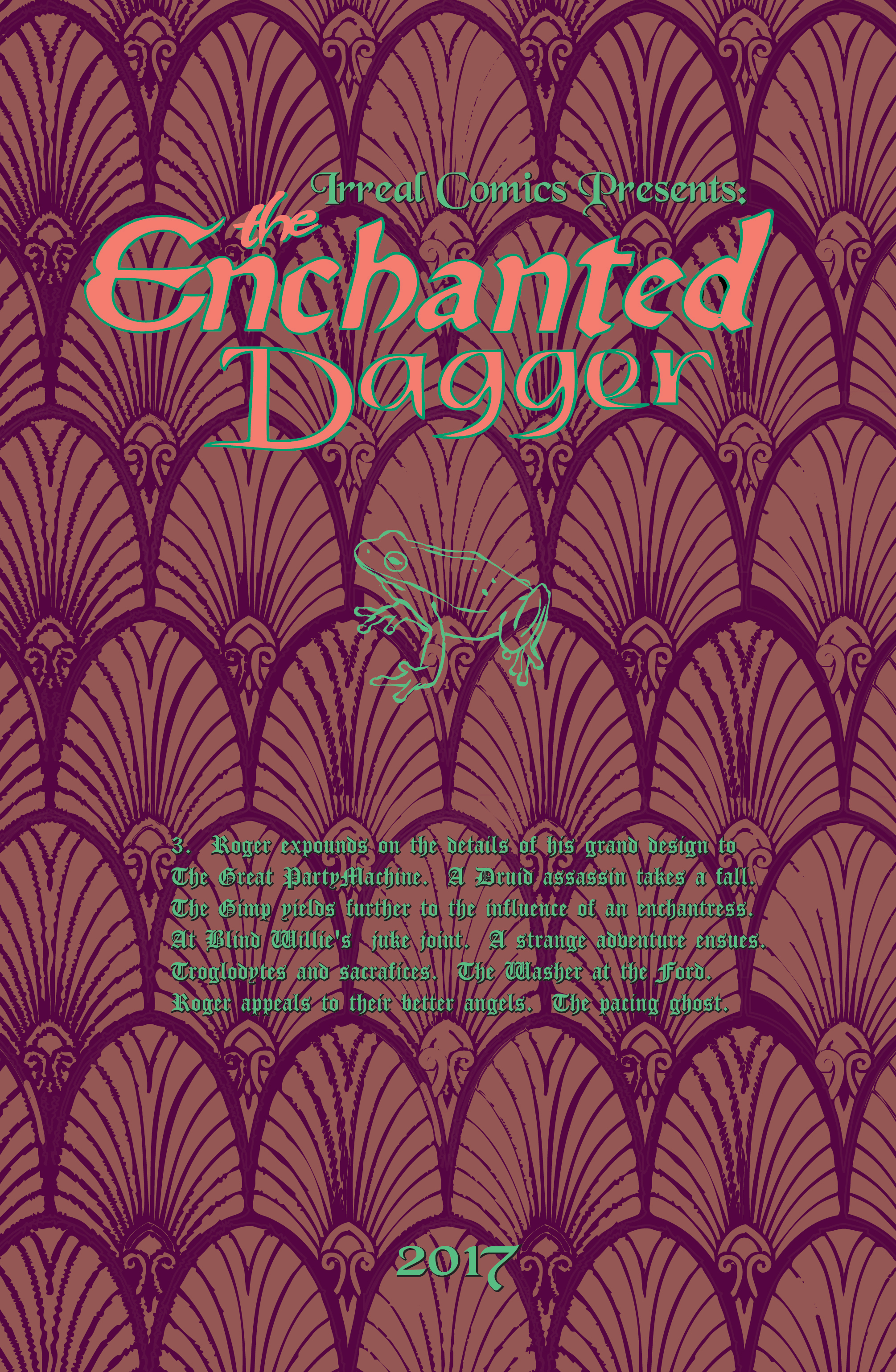 The Enchanted Dagger #3 – Interior Front Cover