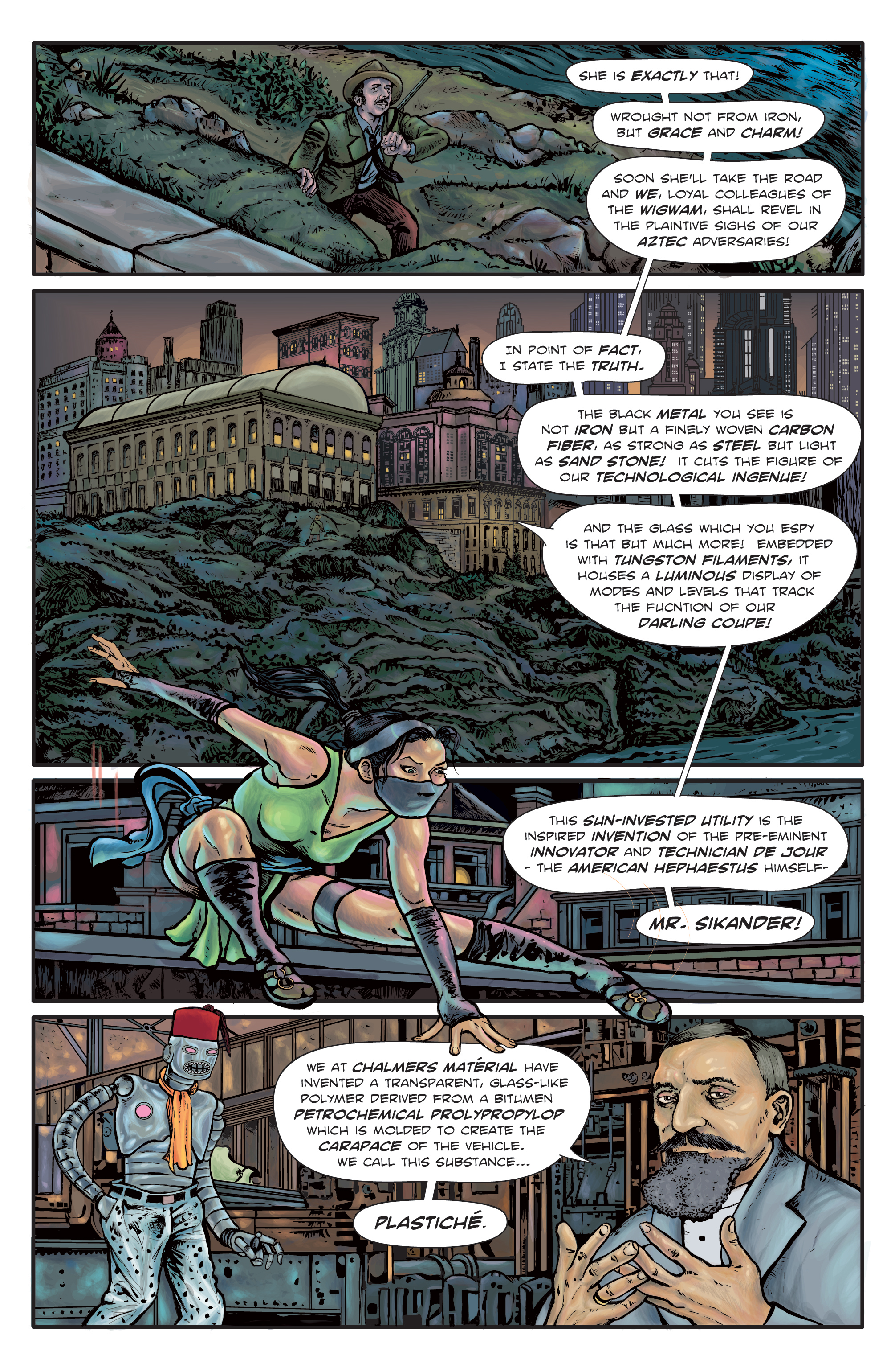The Enchanted Dagger #3 – Page 2