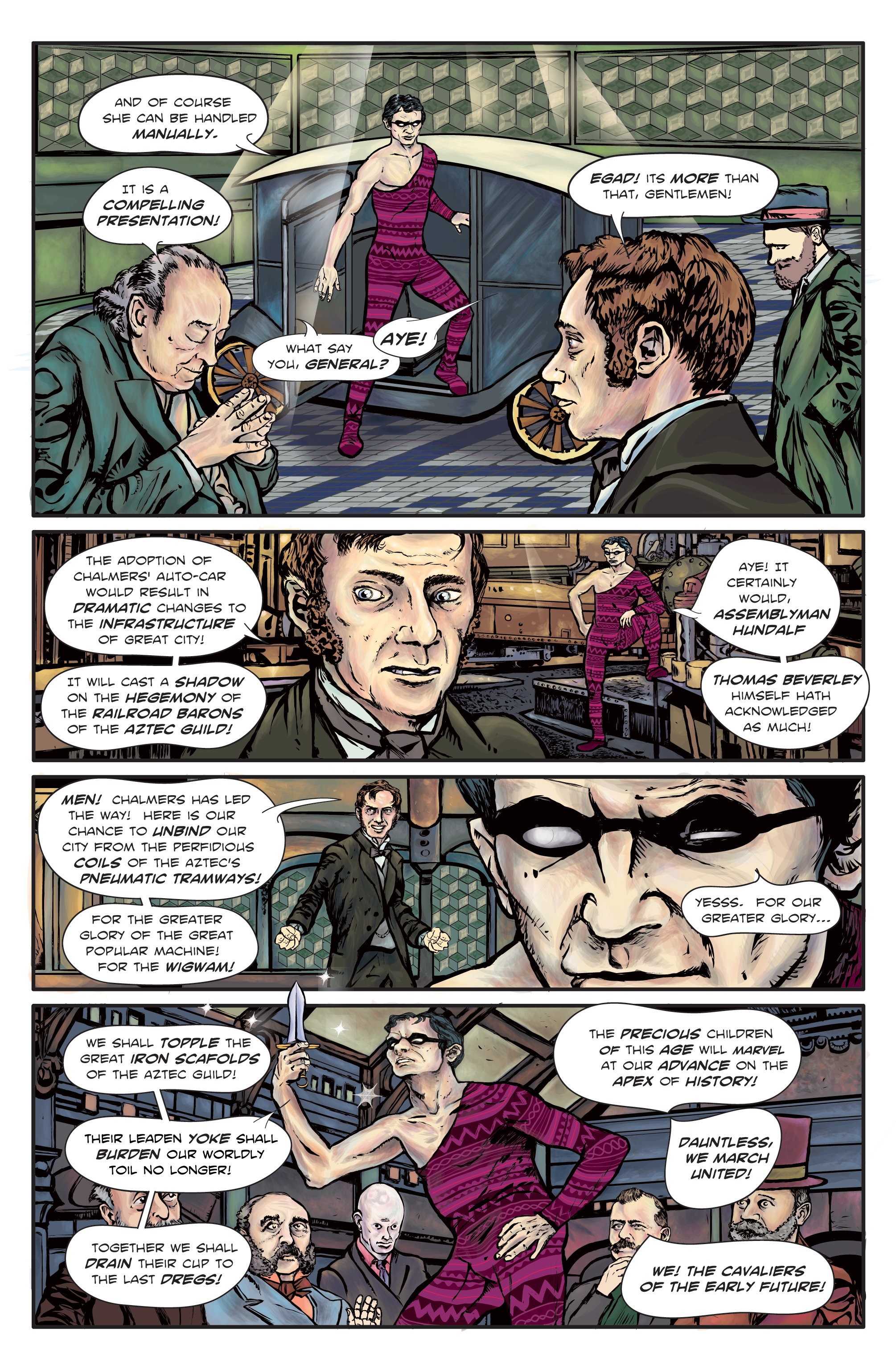 The Enchanted Dagger #3 – Page 4