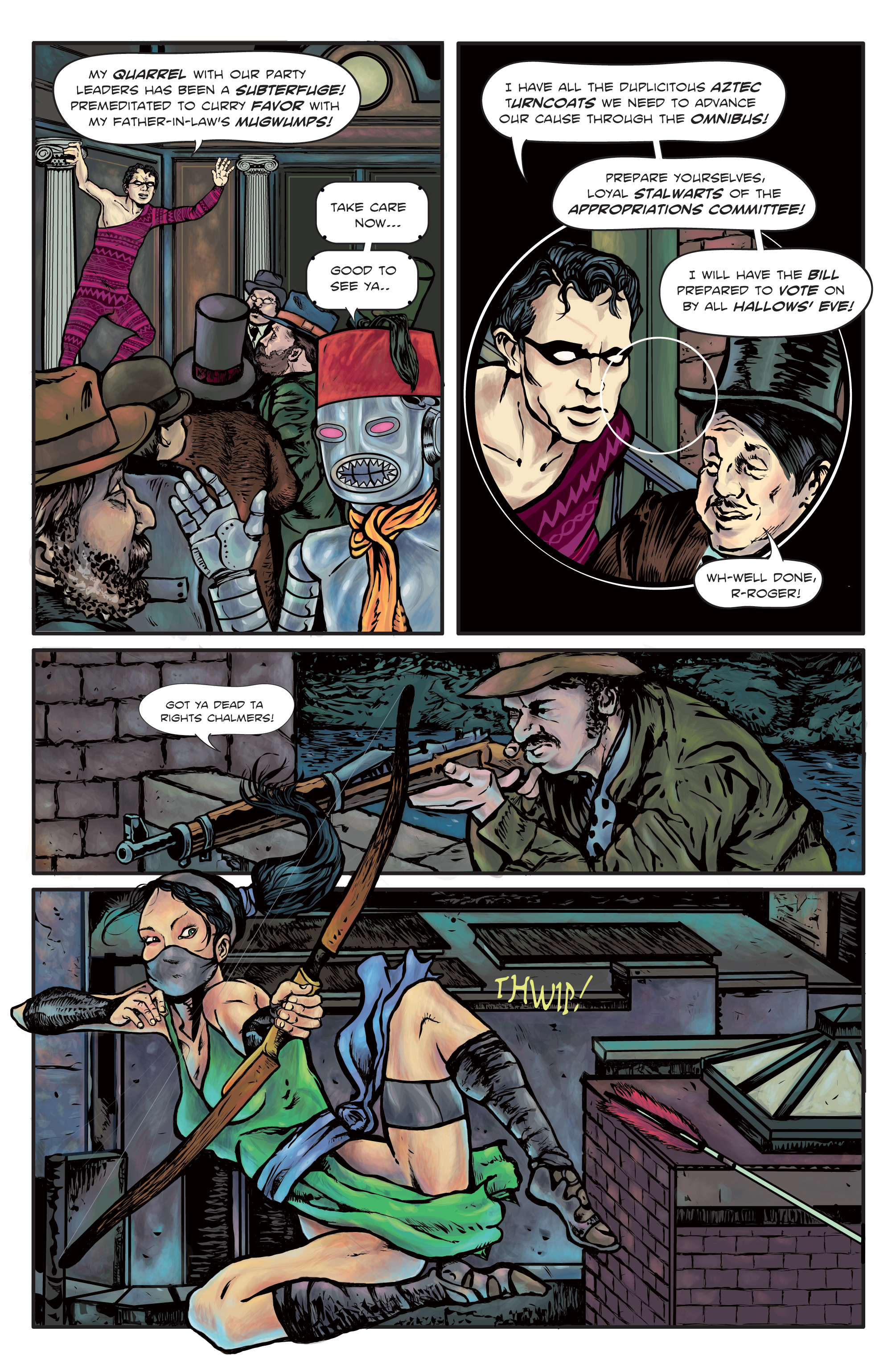 The Enchanted Dagger #3 – Page 5