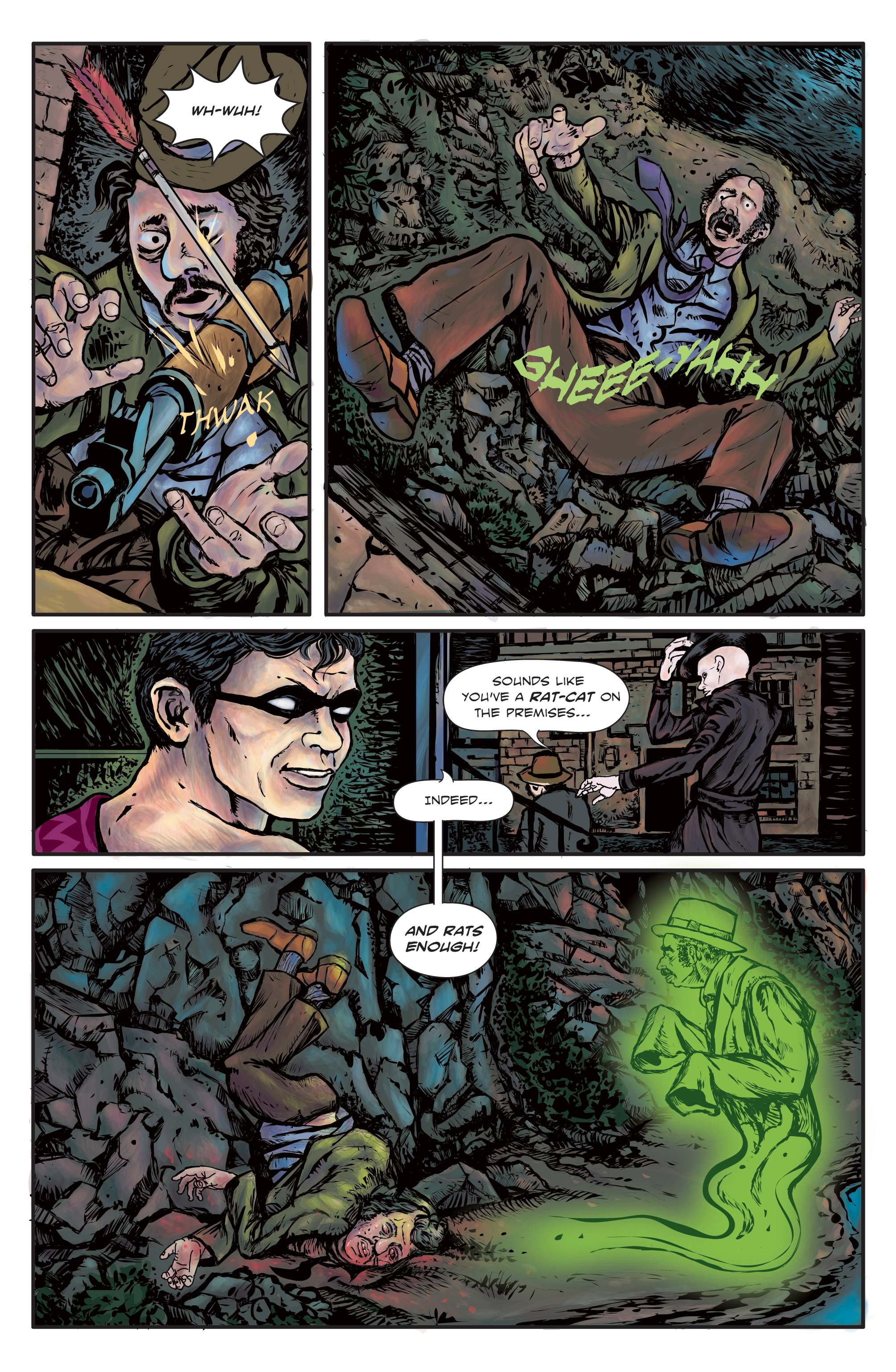 The Enchanted Dagger #3 – Page 6