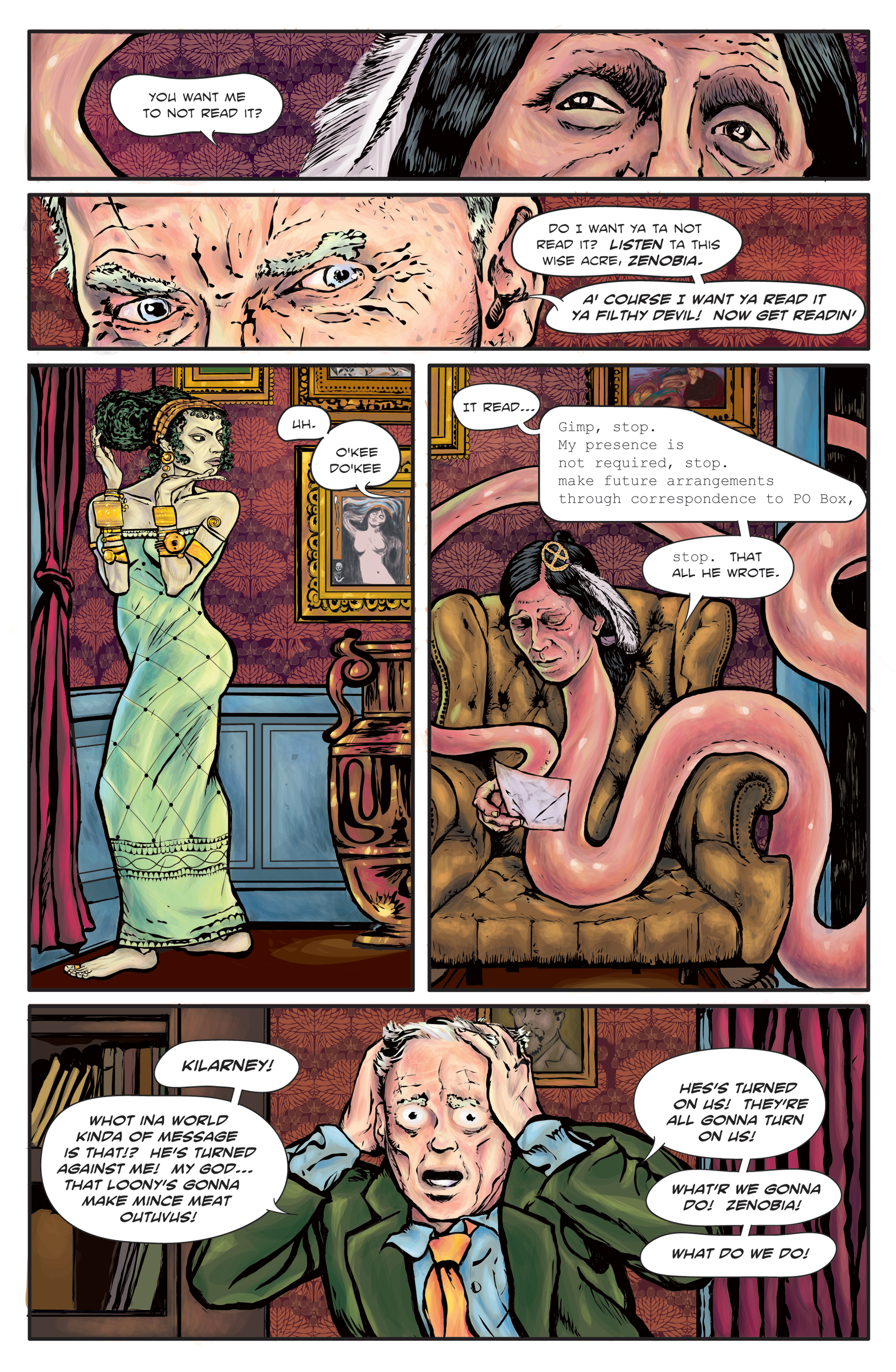 The Enchanted Dagger #3 – Page 8