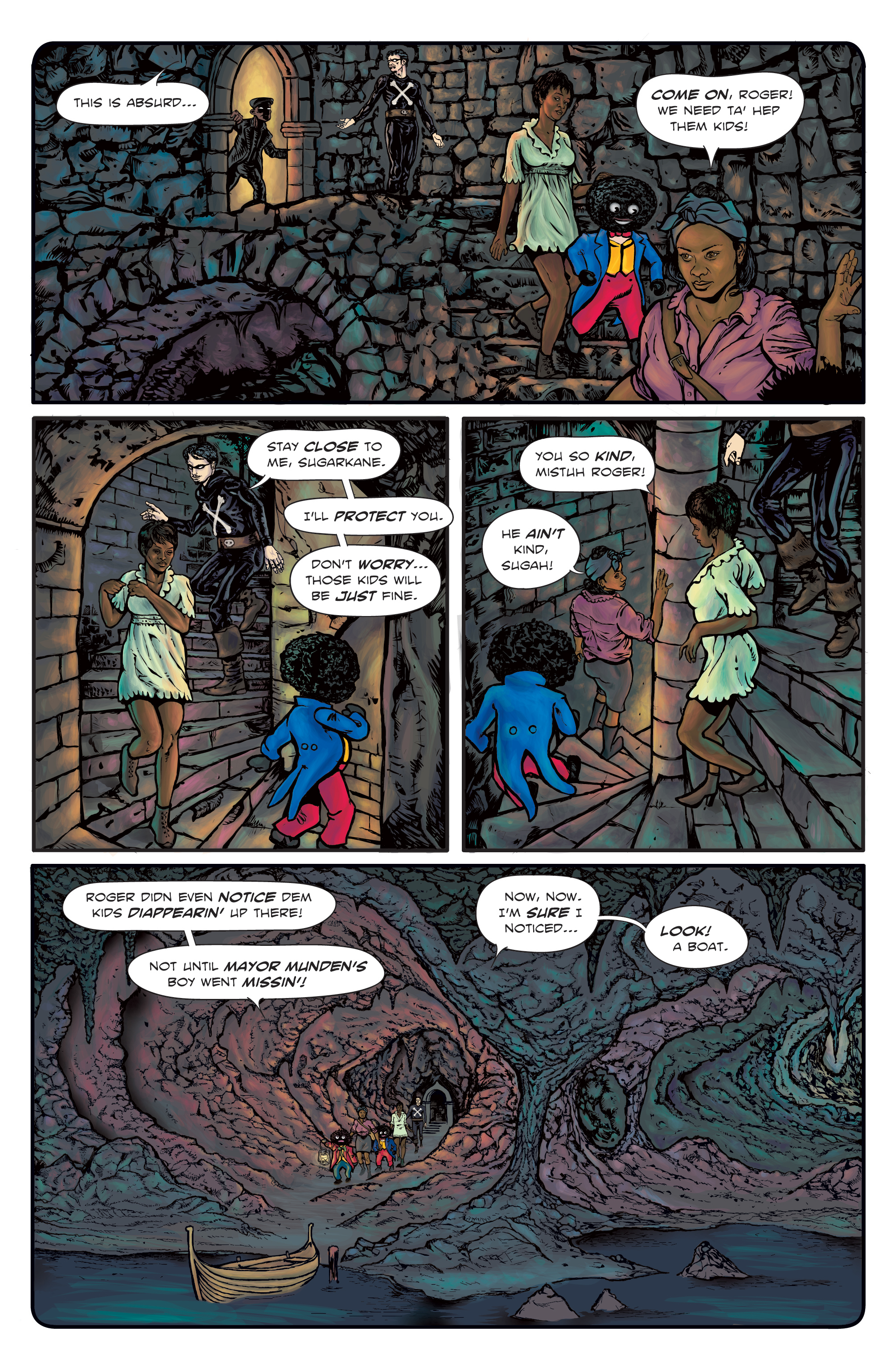 The Enchanted Dagger #3 – Page 14