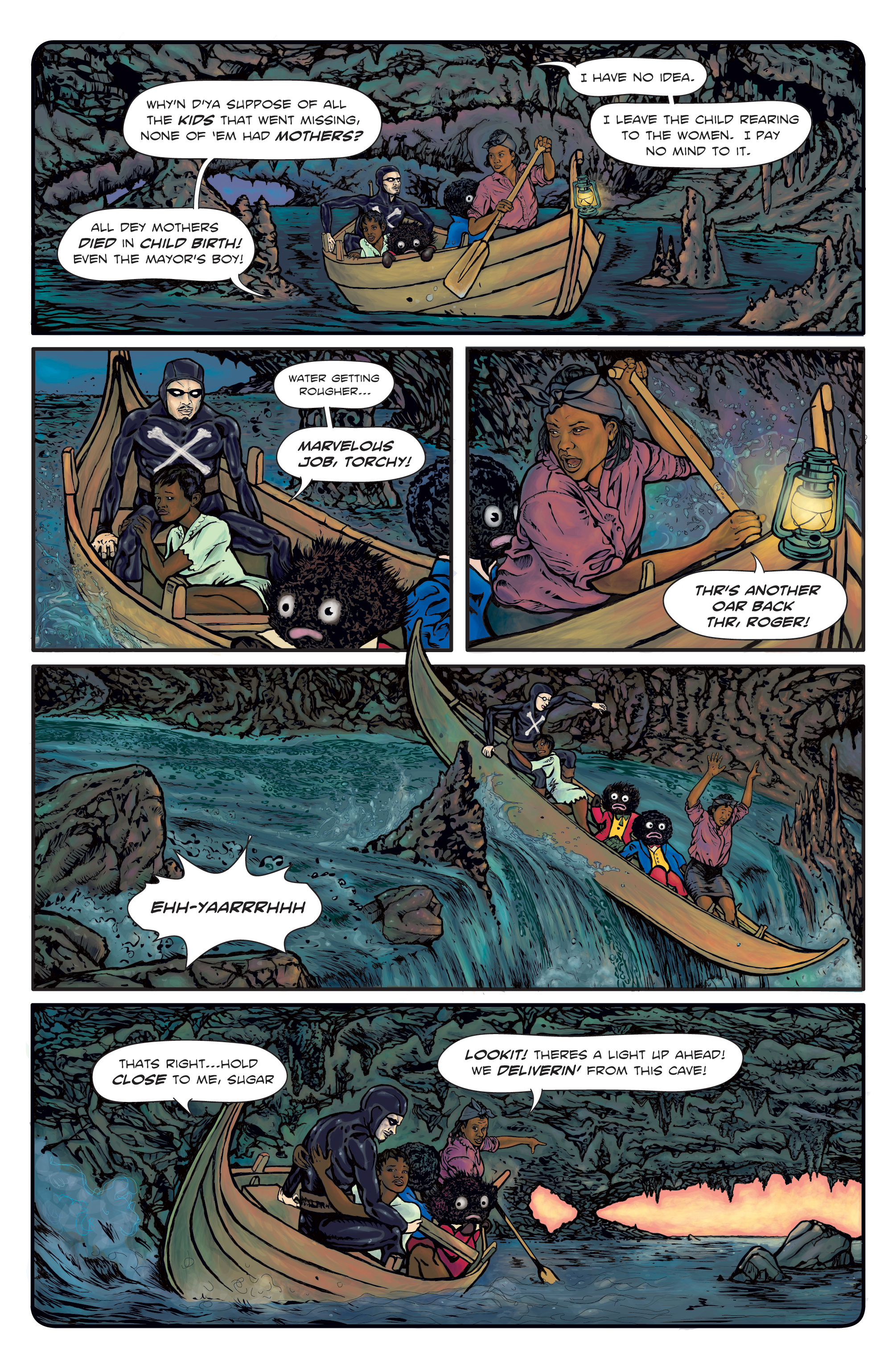 The Enchanted Dagger #3 – Page 15