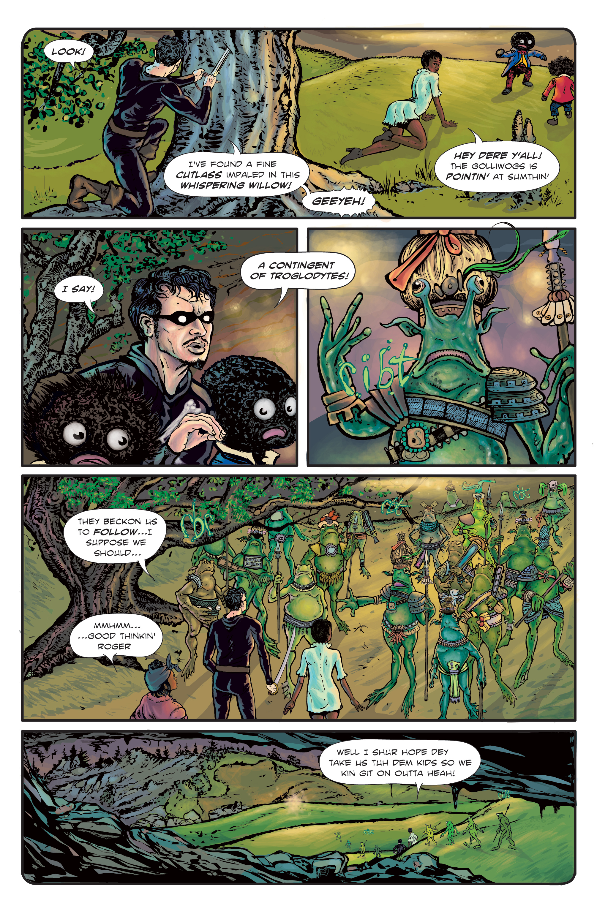 The Enchanted Dagger #3 – Page 18