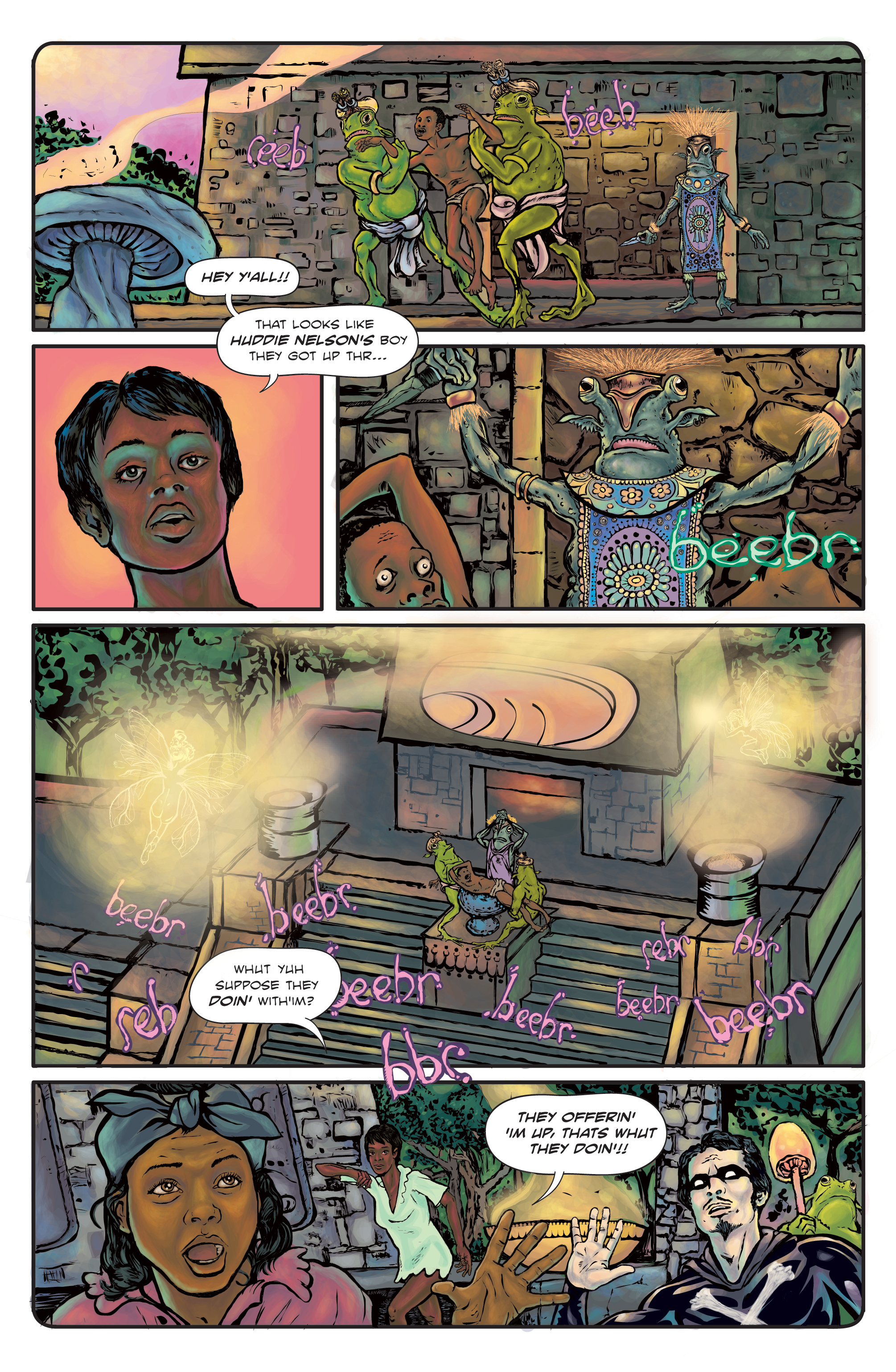 The Enchanted Dagger #3 – Page 21