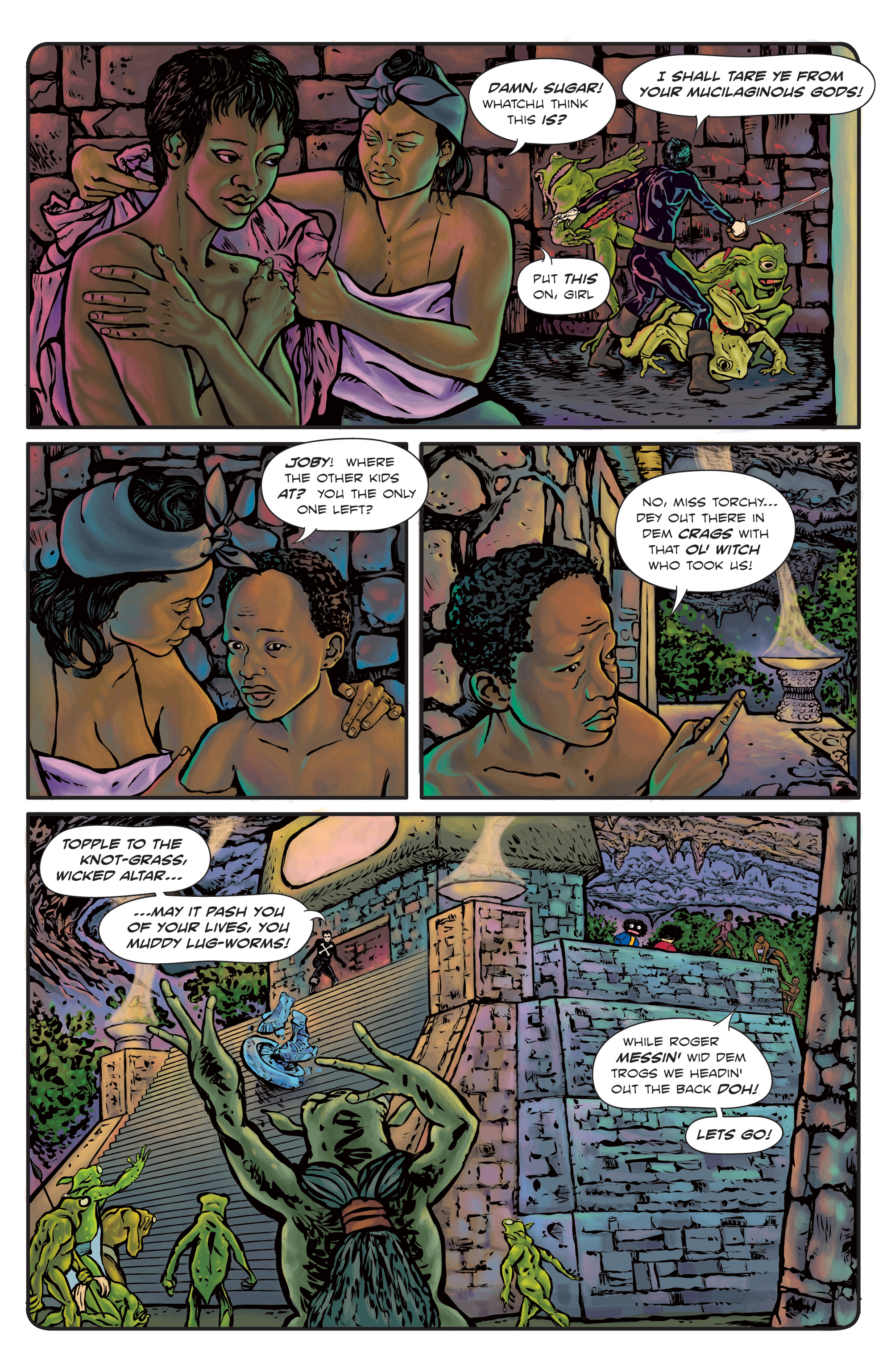 The Enchanted Dagger #3 – Page 25
