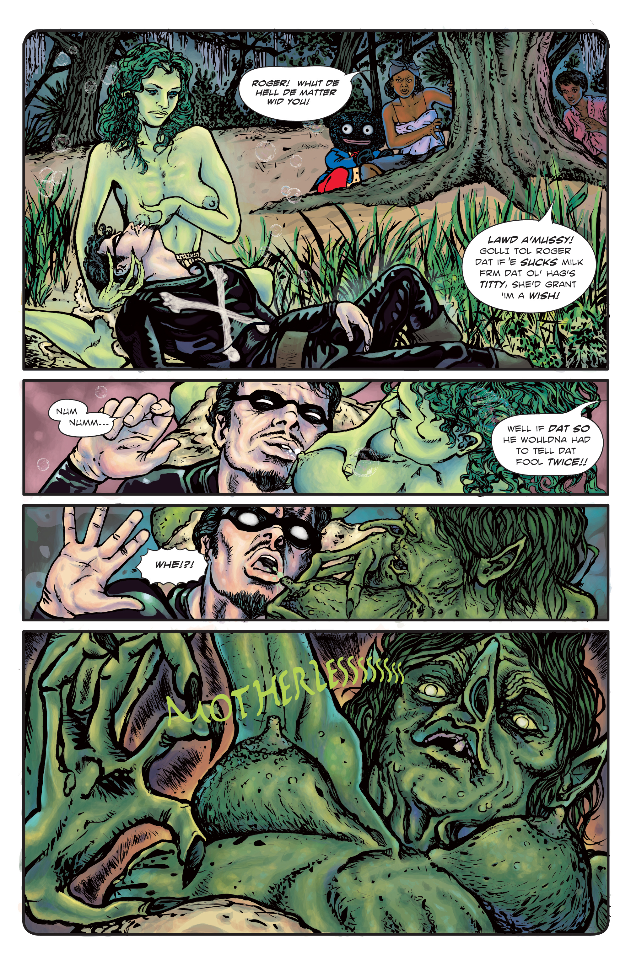 The Enchanted Dagger #3 – Page 28