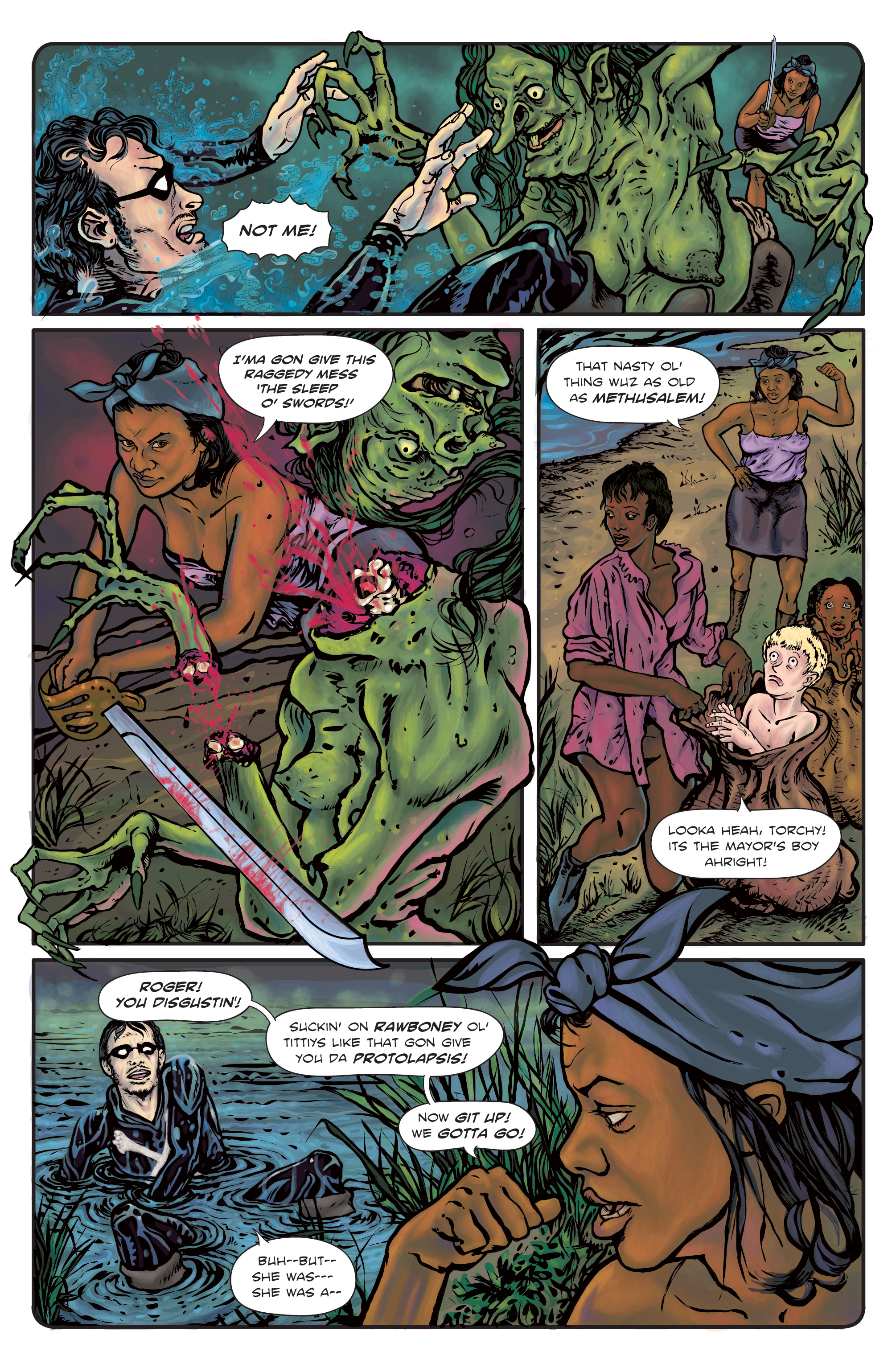 The Enchanted Dagger #3 – Page 29