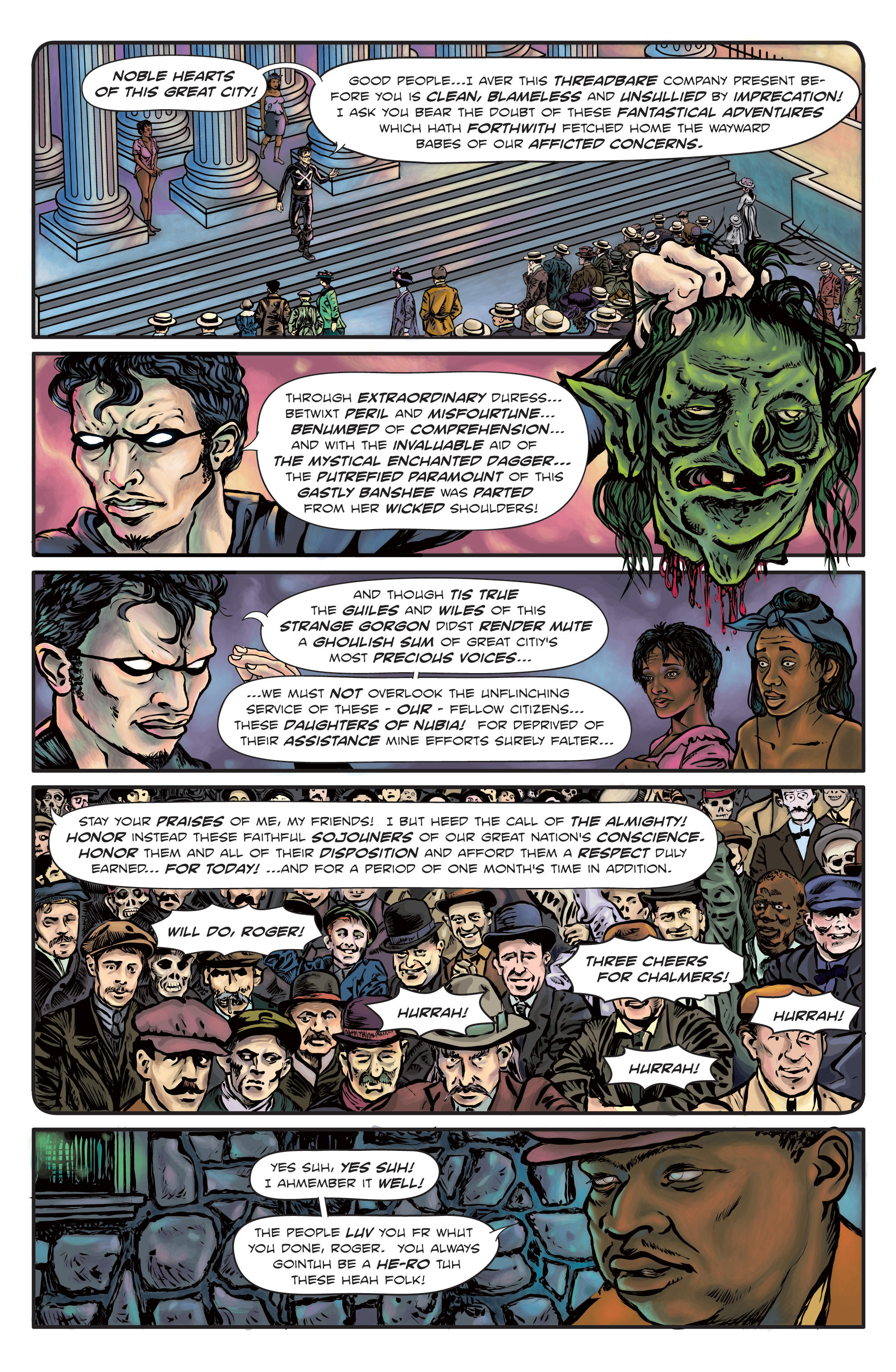 The Enchanted Dagger #3 – Page 31