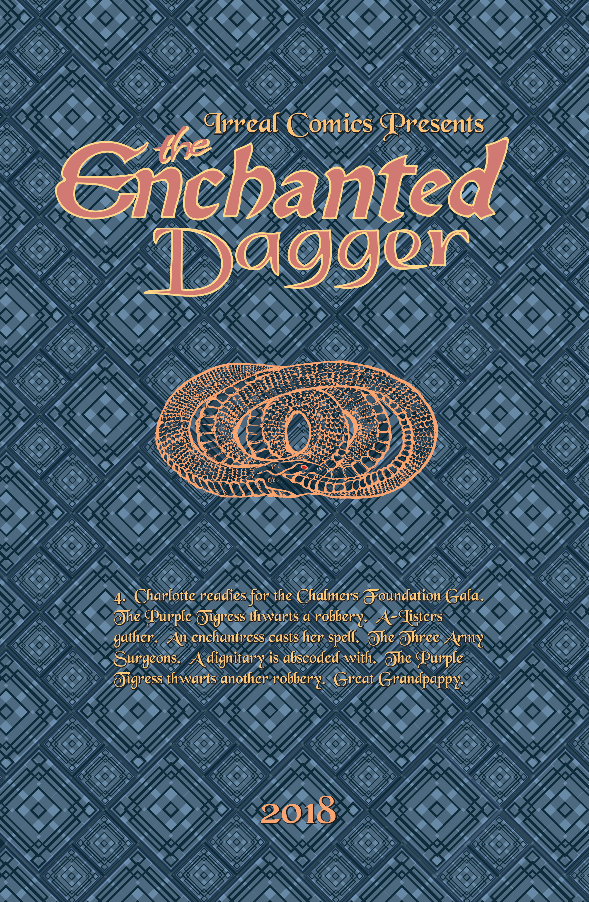 The Enchanted Dagger #4 – Inside Cover