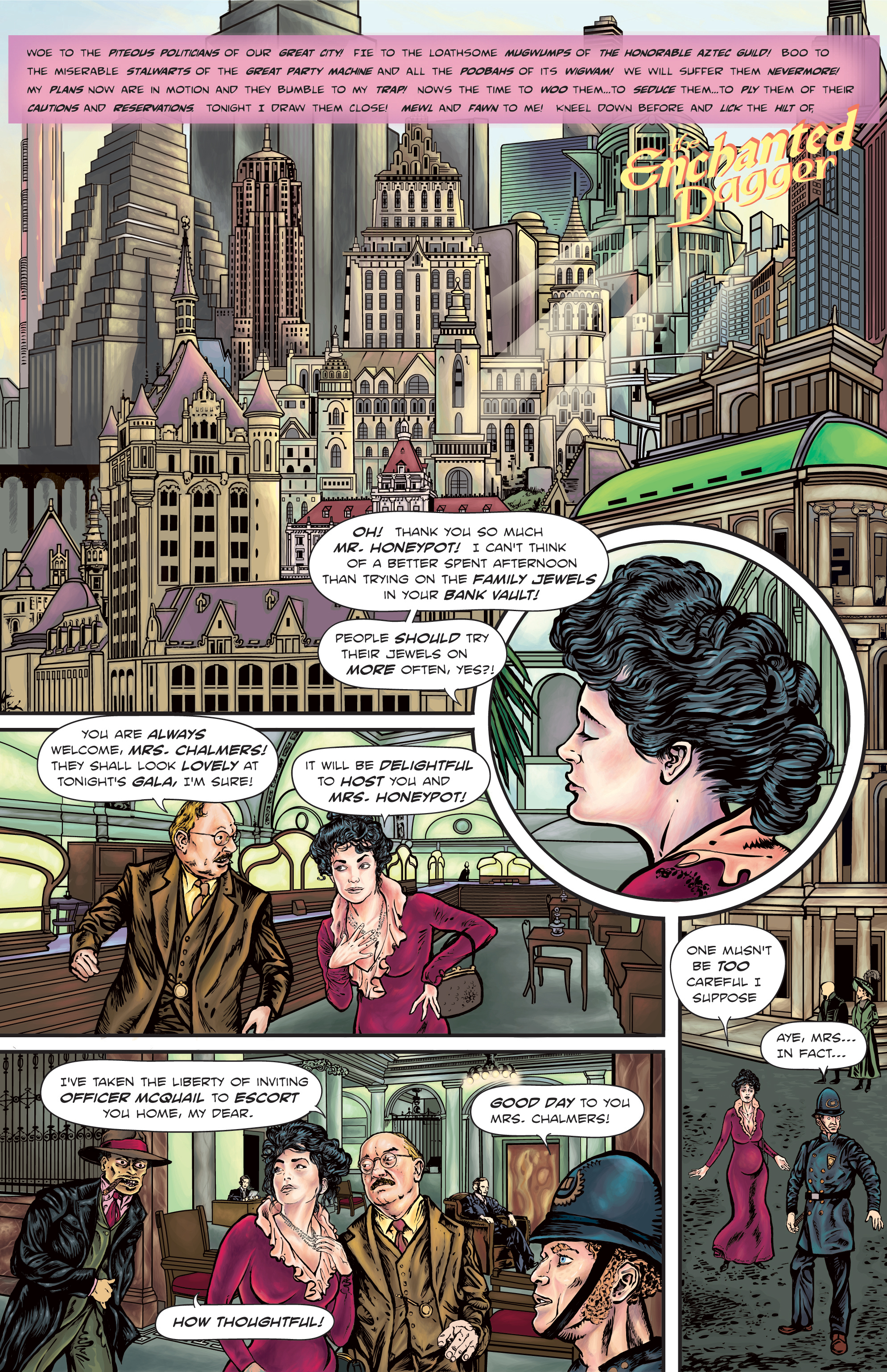 The Enchanted Dagger #4 – page 1