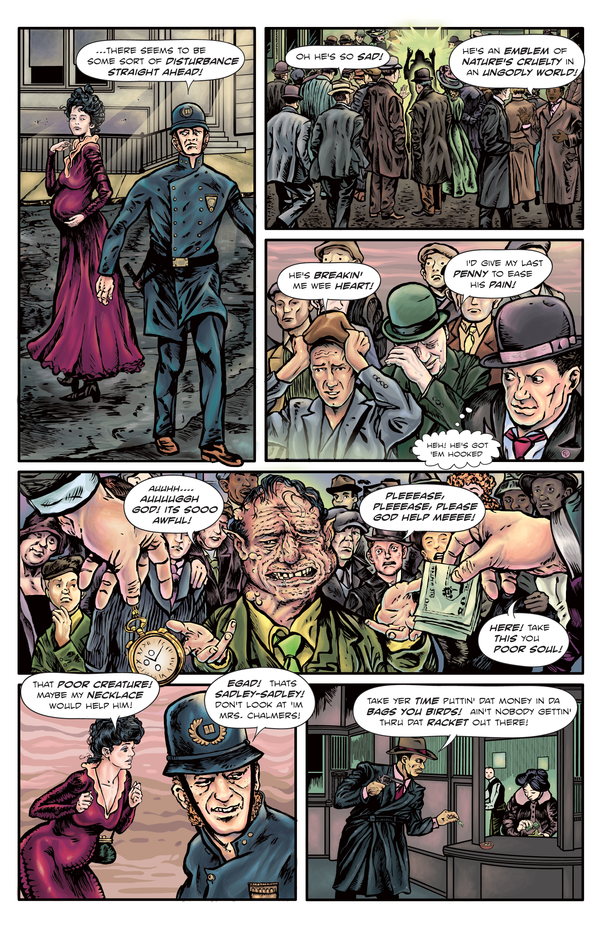 The Enchanted Dagger # 4 – Page 2