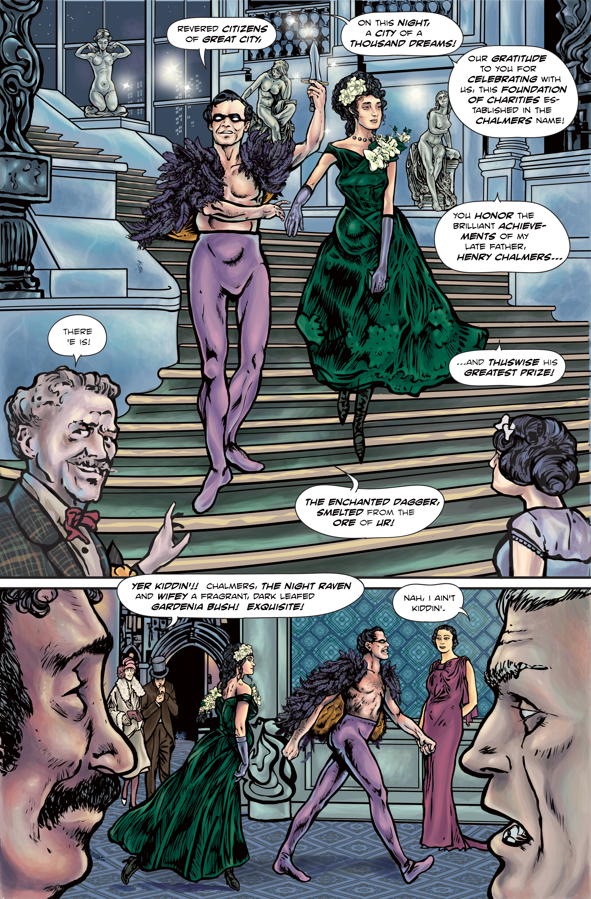 The Enchanted Dagger #4 – Page 8