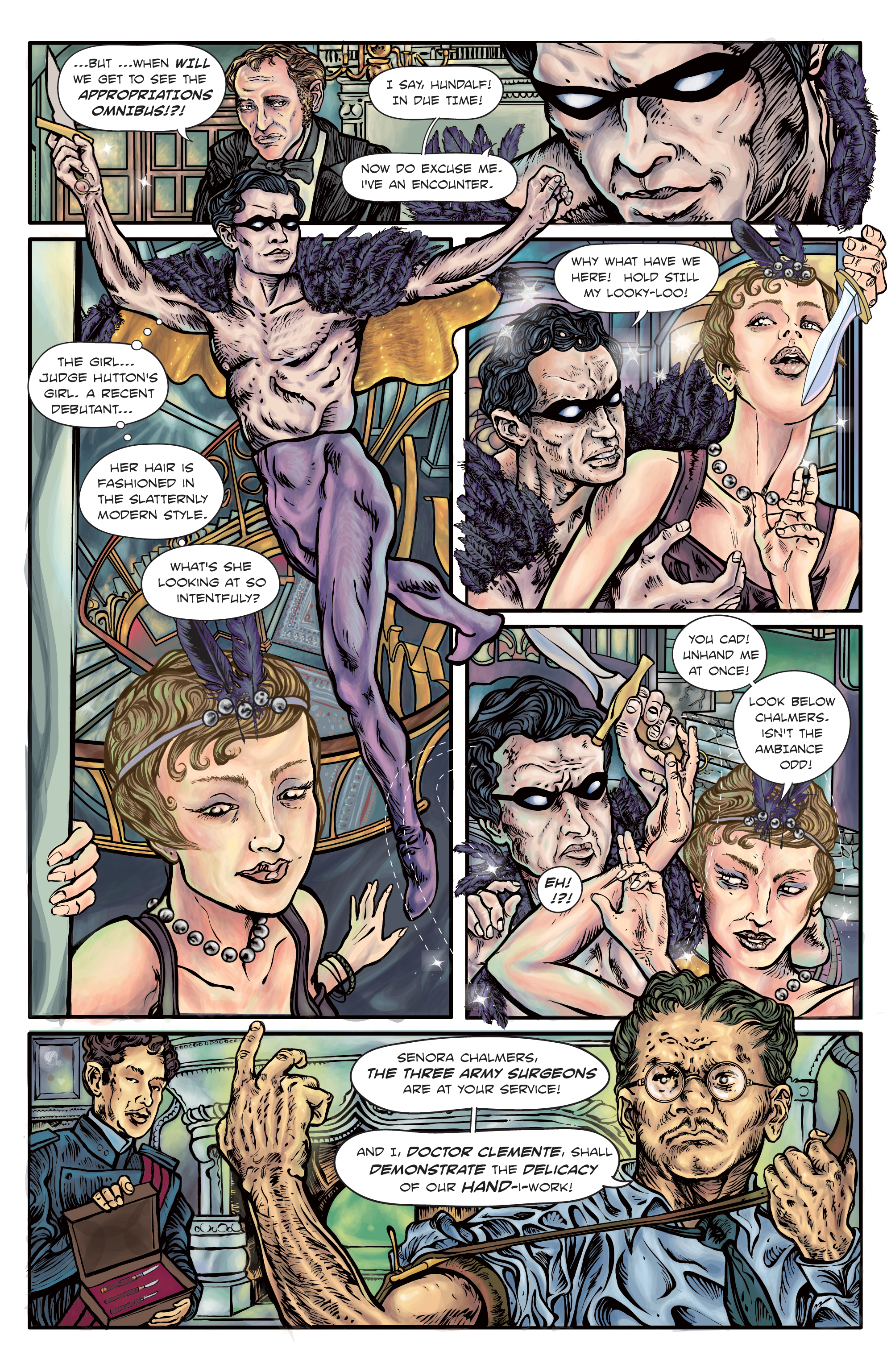 The Enchanted Dagger #4 – page 11
