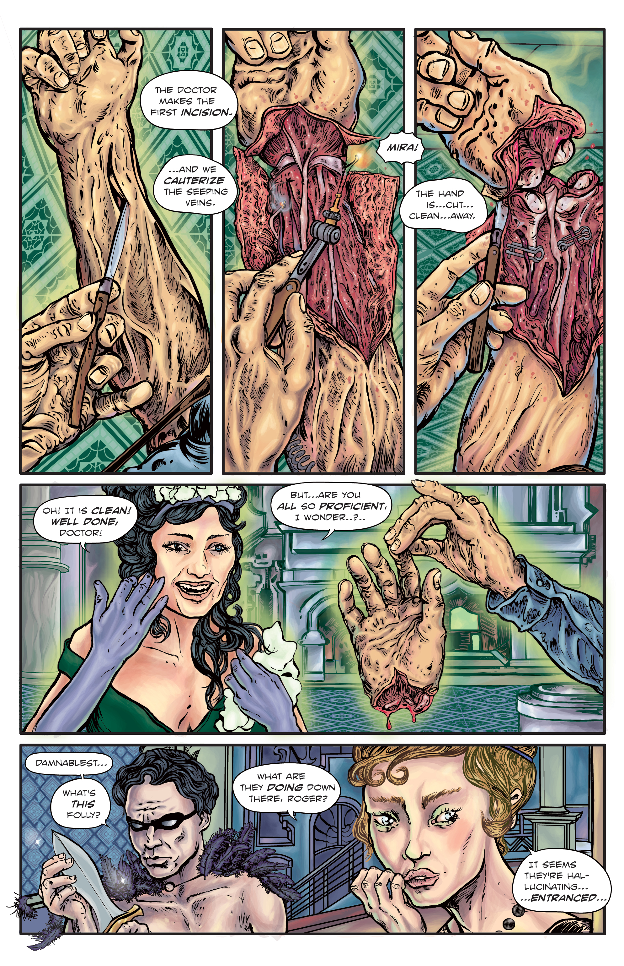 The Enchanted Dagger #4 – Page 12
