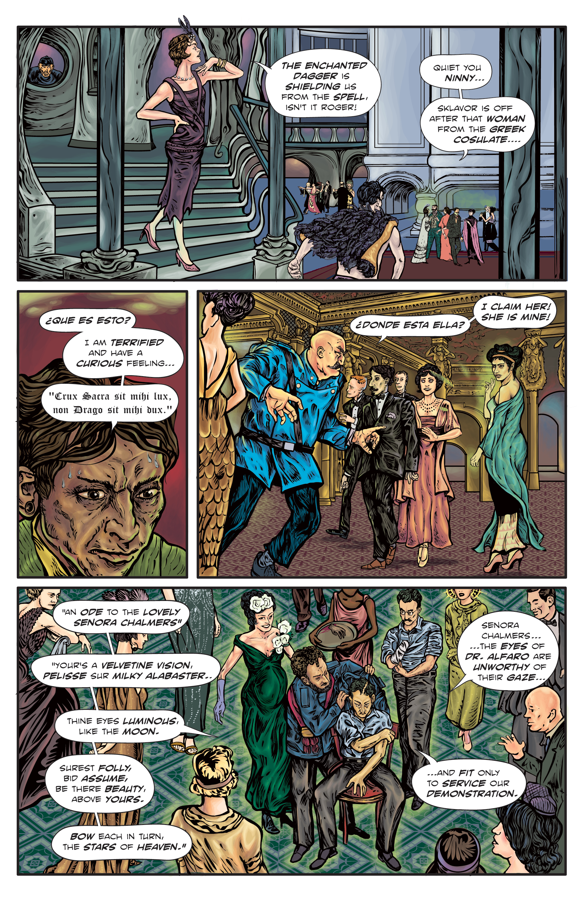 The Enchanted Dagger #4 – Page 13