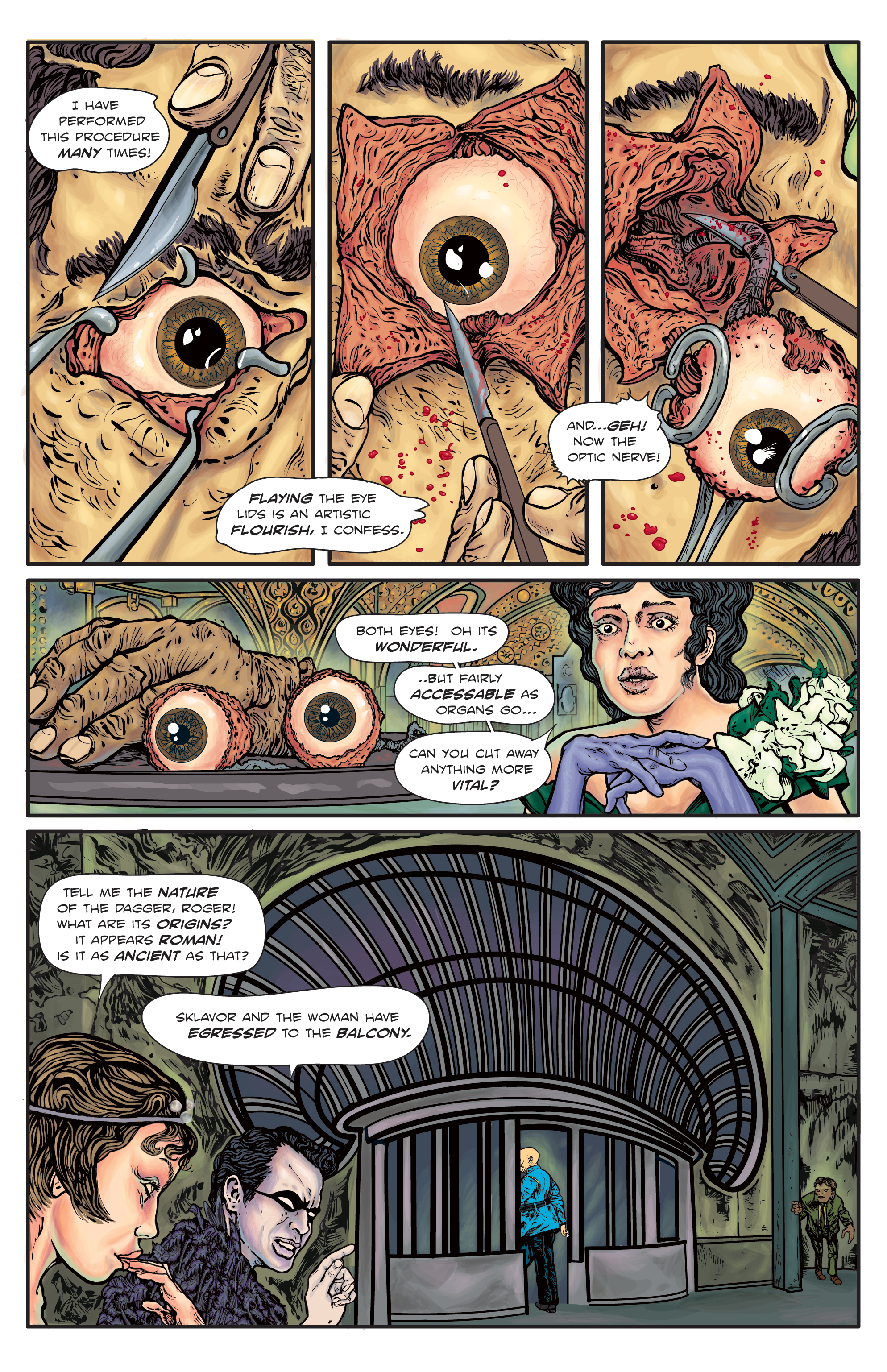 The Enchanted Dagger #4 – Page 14