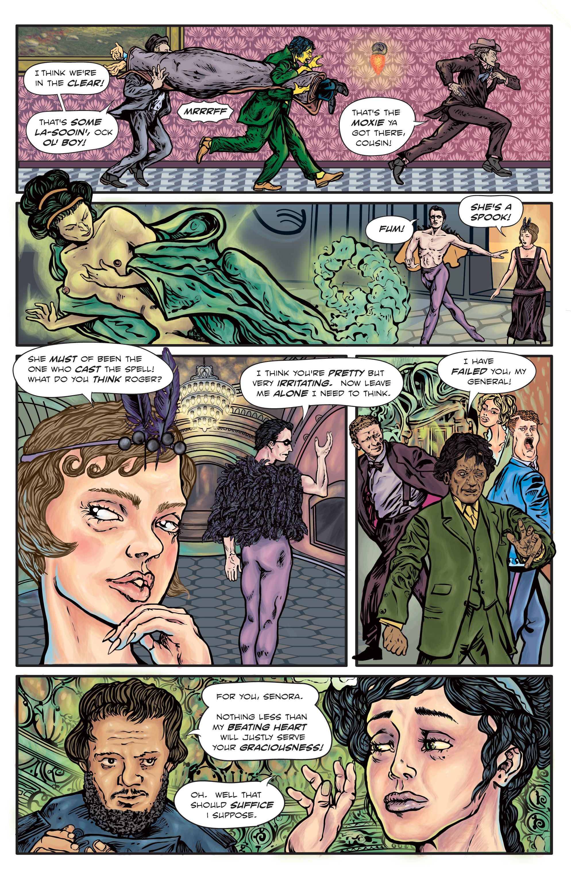 The Enchanted Dagger  #4 – Page 16