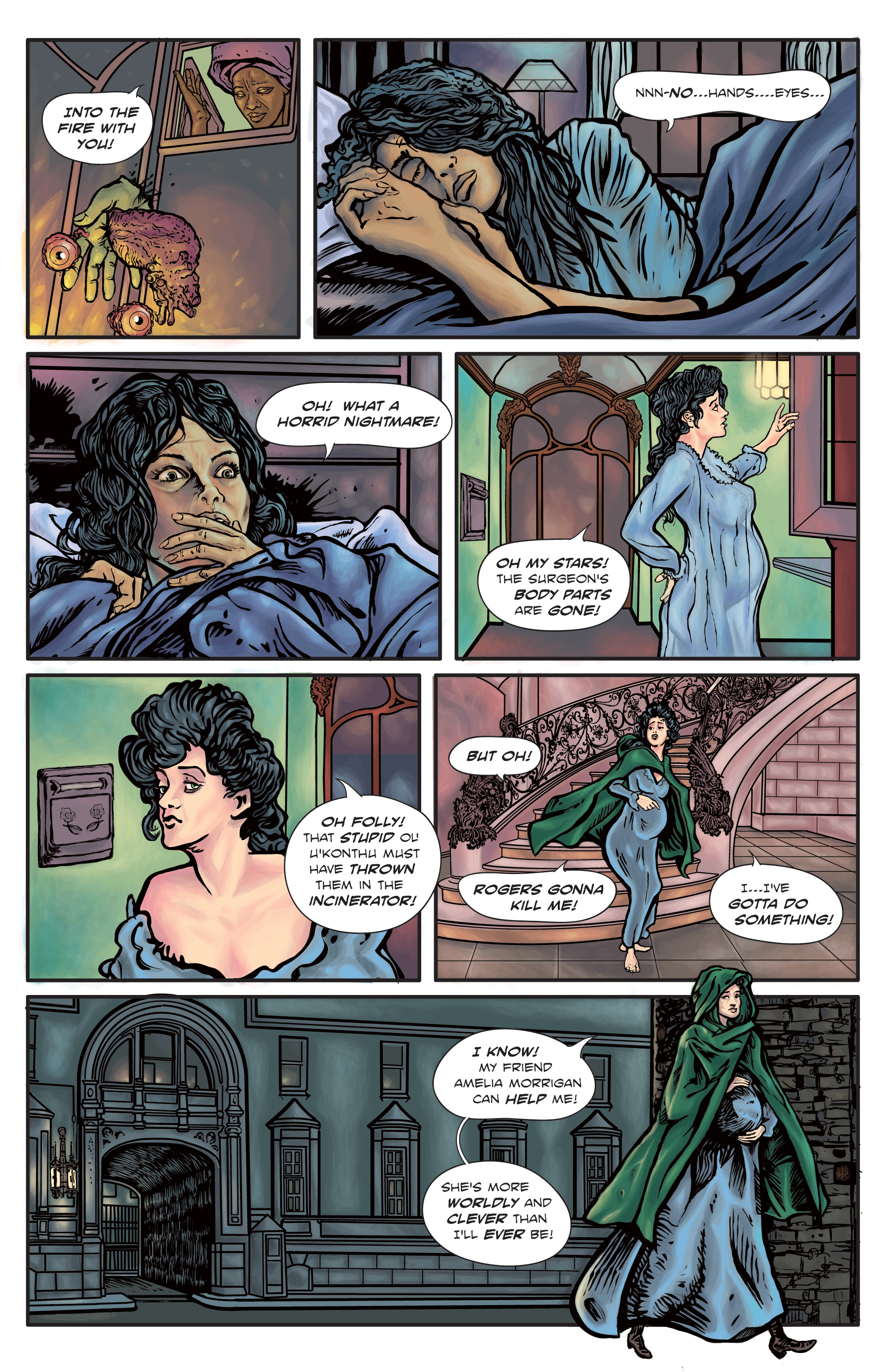 The Enchanted Dagger #4 – Page 19