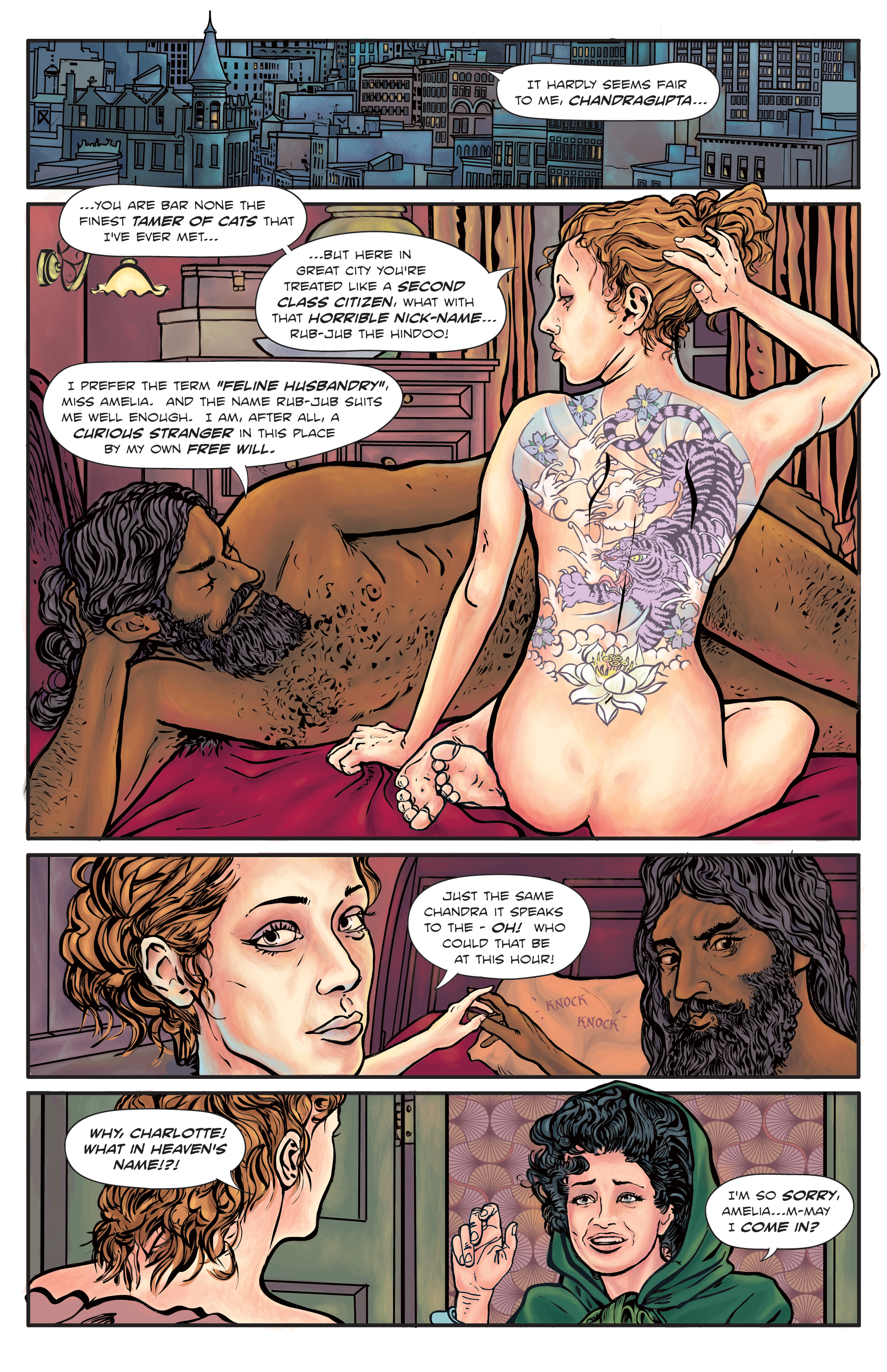 The Enchanted Dagger #4 – Page 20