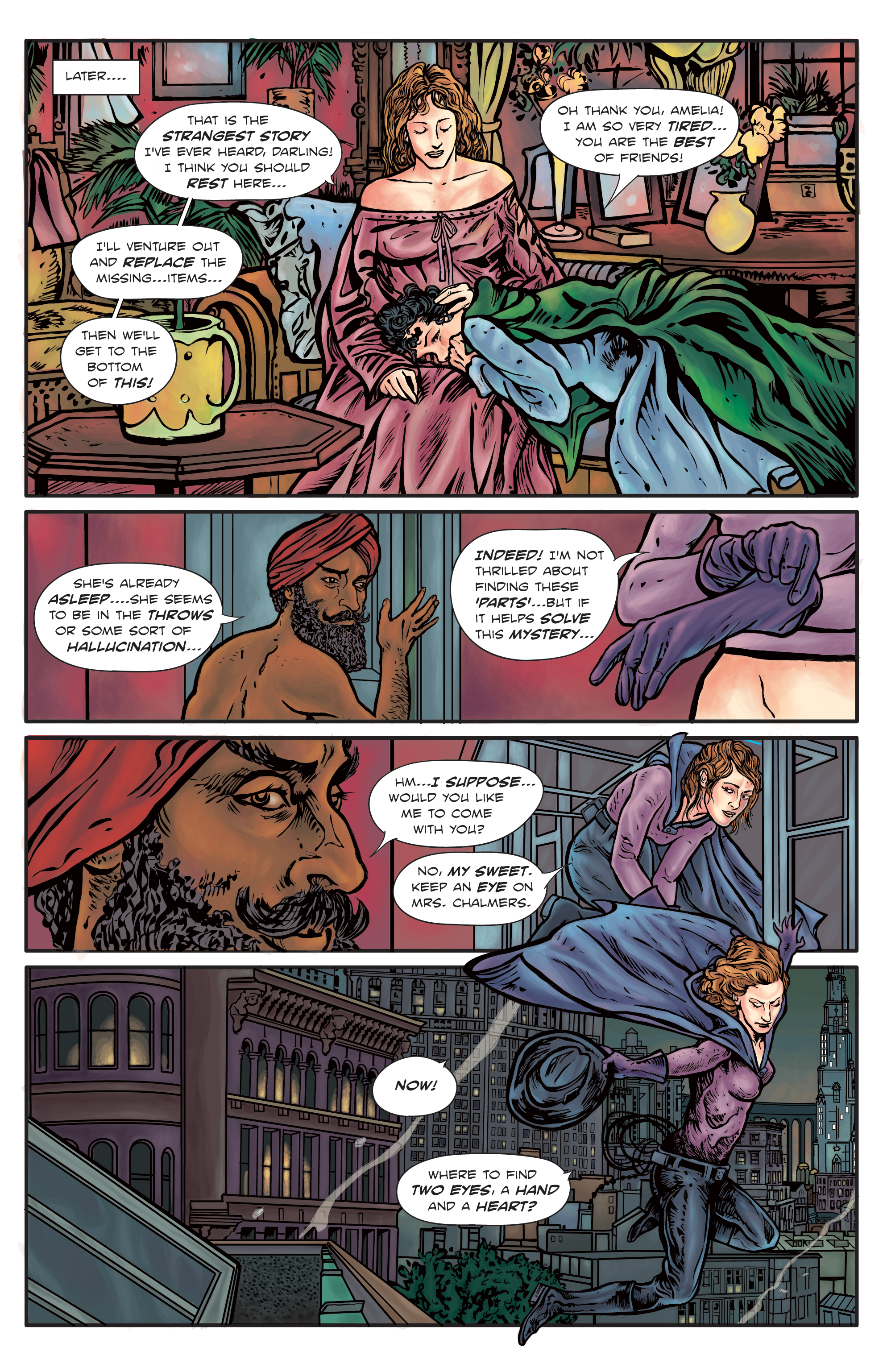 The Enchanted Dagger #4 – Page 21