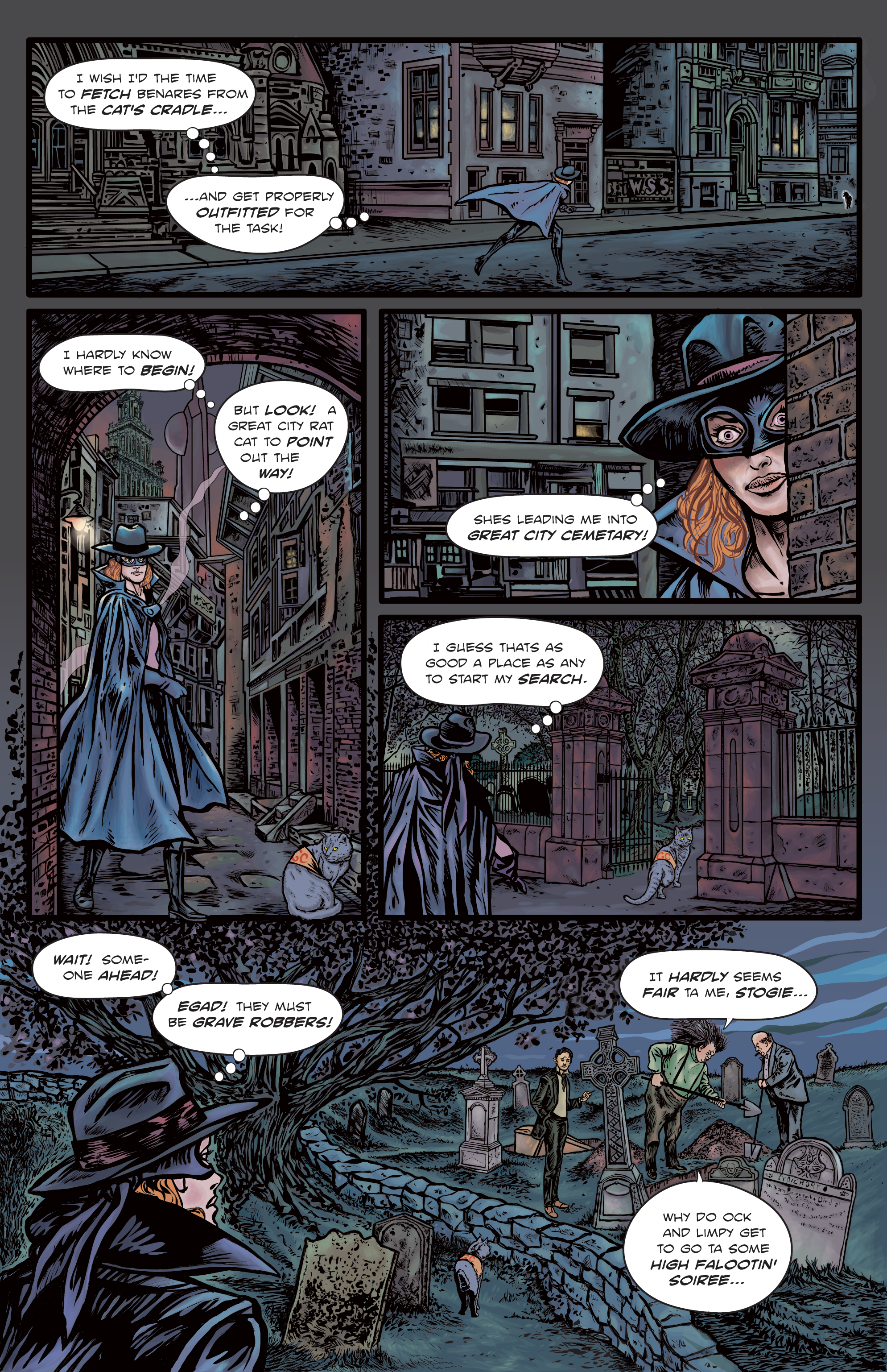 The Enchanted Dagger #4 – Page 22