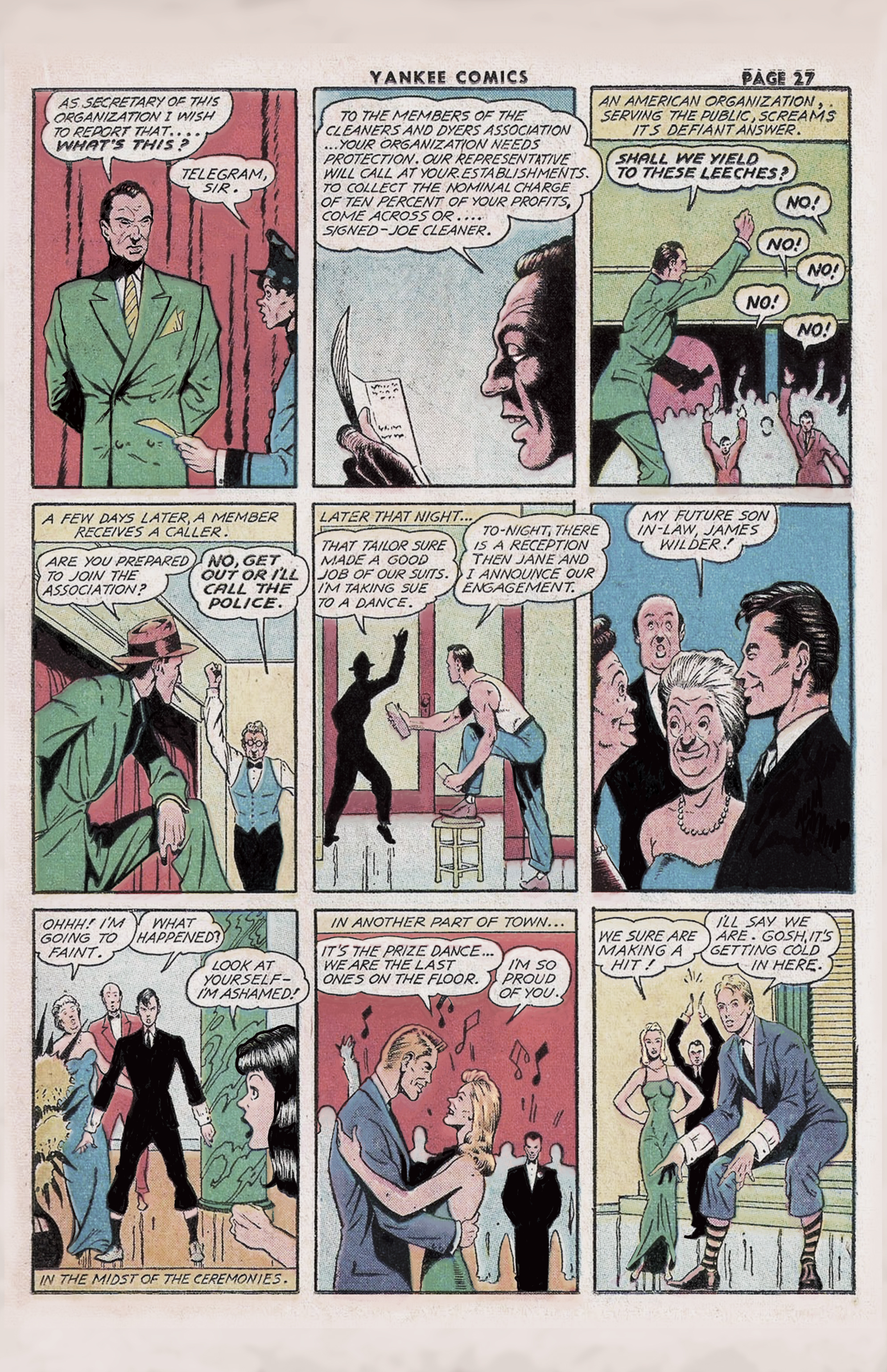 The Enchanted Dagger – Yankee Comics Classic #4 – Page 2