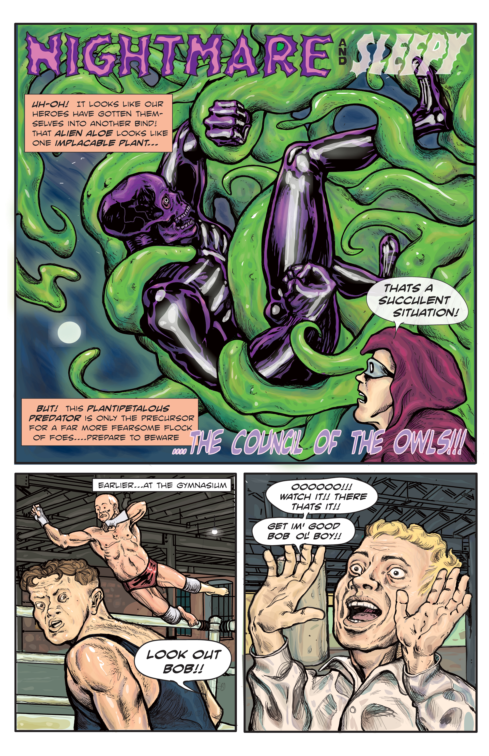 Tales of the Irreal #1 – Page 1