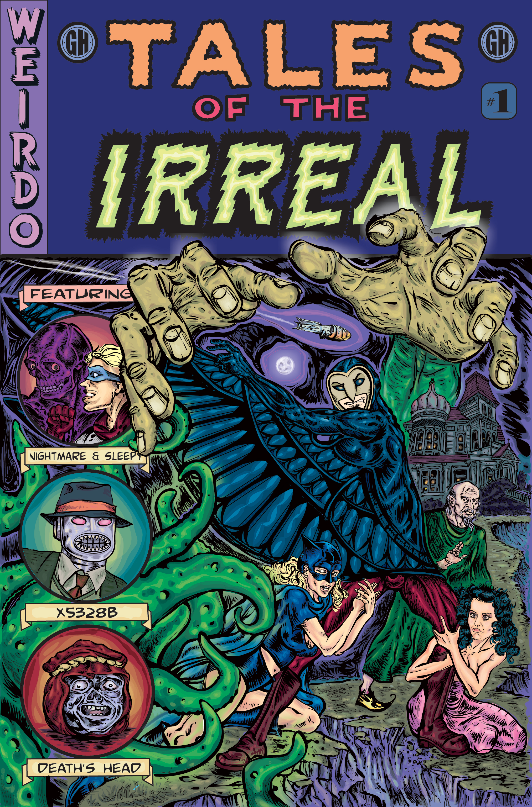 Tales of the Irreal #1 – Cover