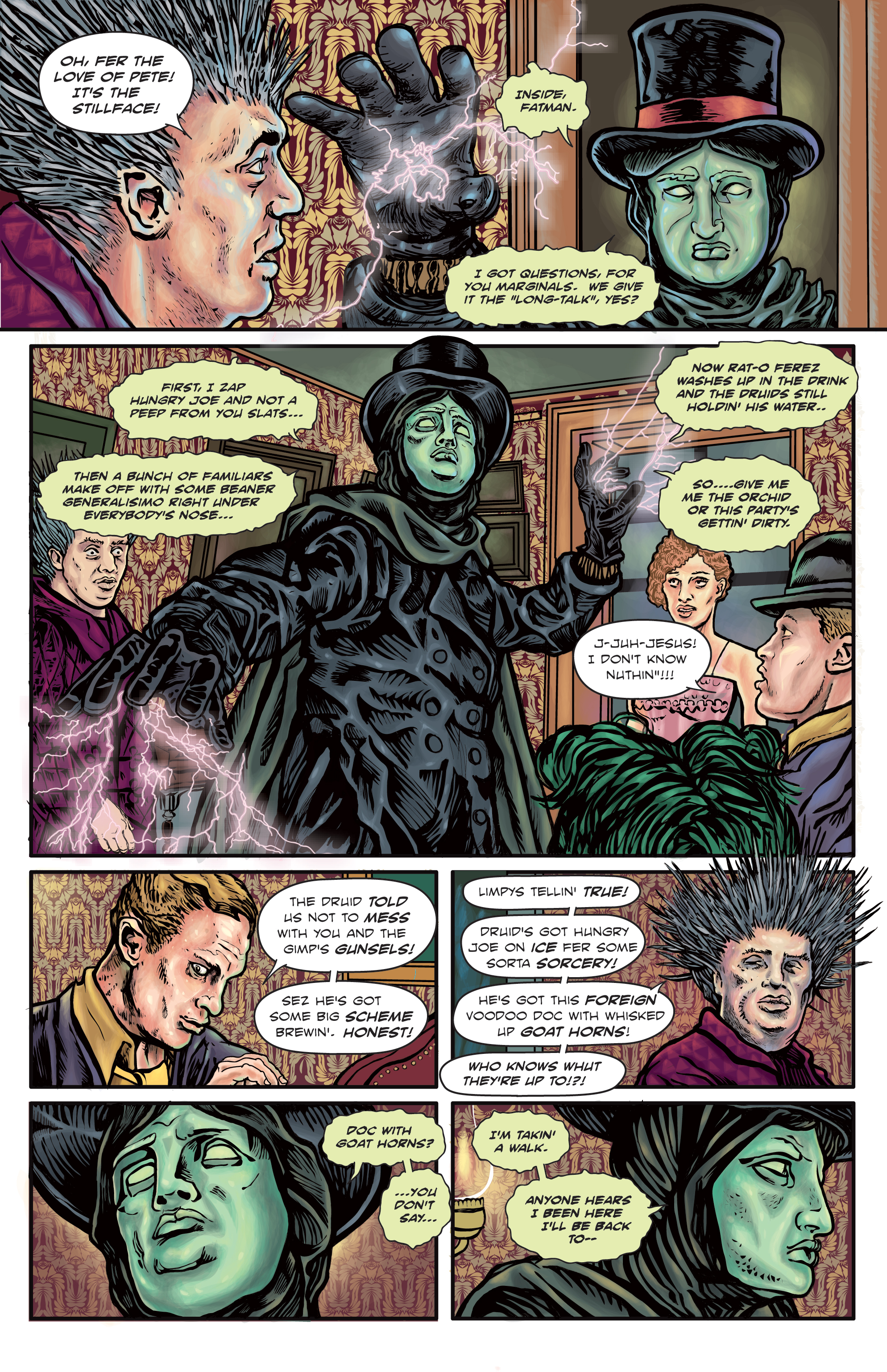 The Enchanted Dagger #5 – Page 2