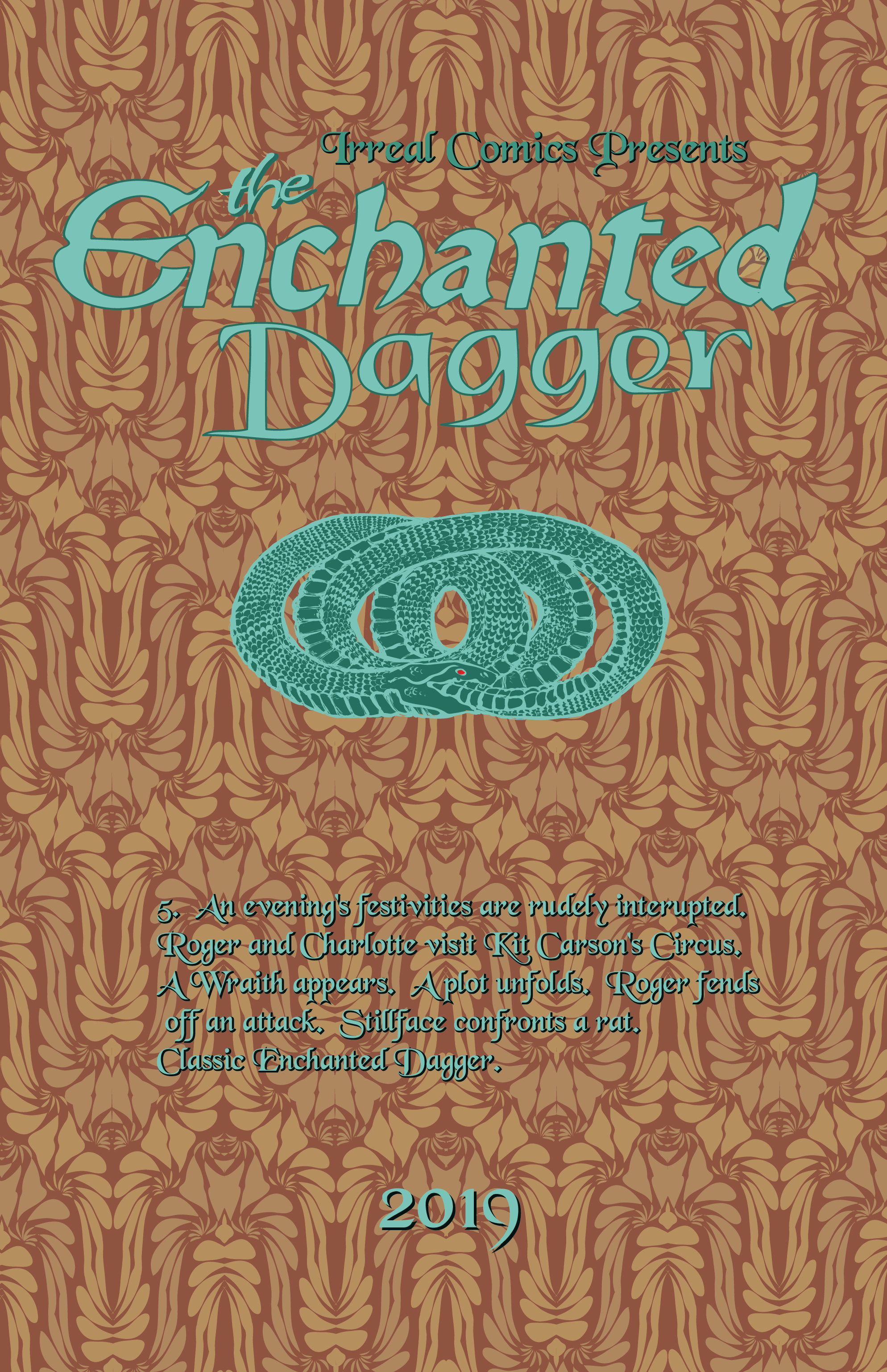 The Enchanted Dagger #5 – Interior Front Cover