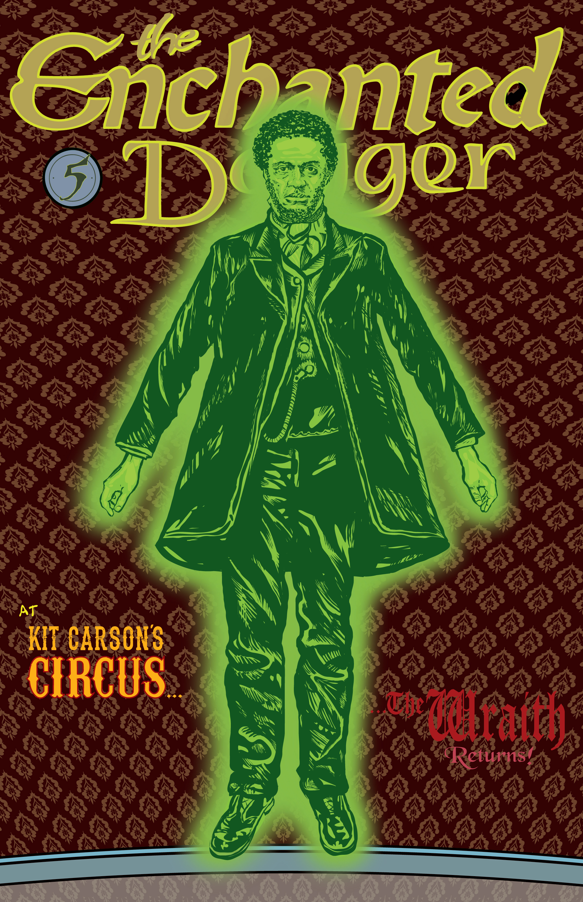 The Enchanted Dagger #5 – Cover