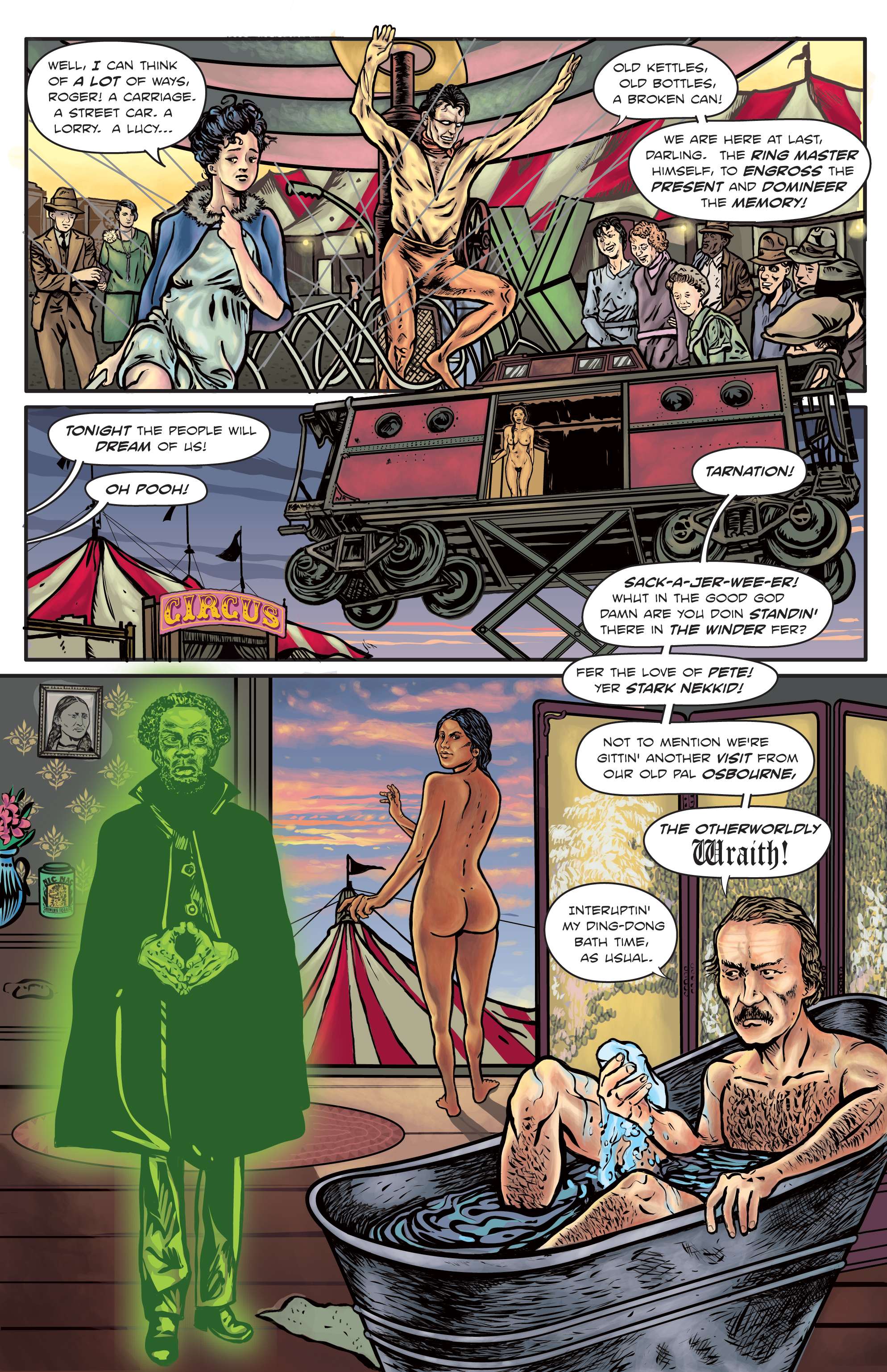 The Enchanted Dagger #5 – Page 4