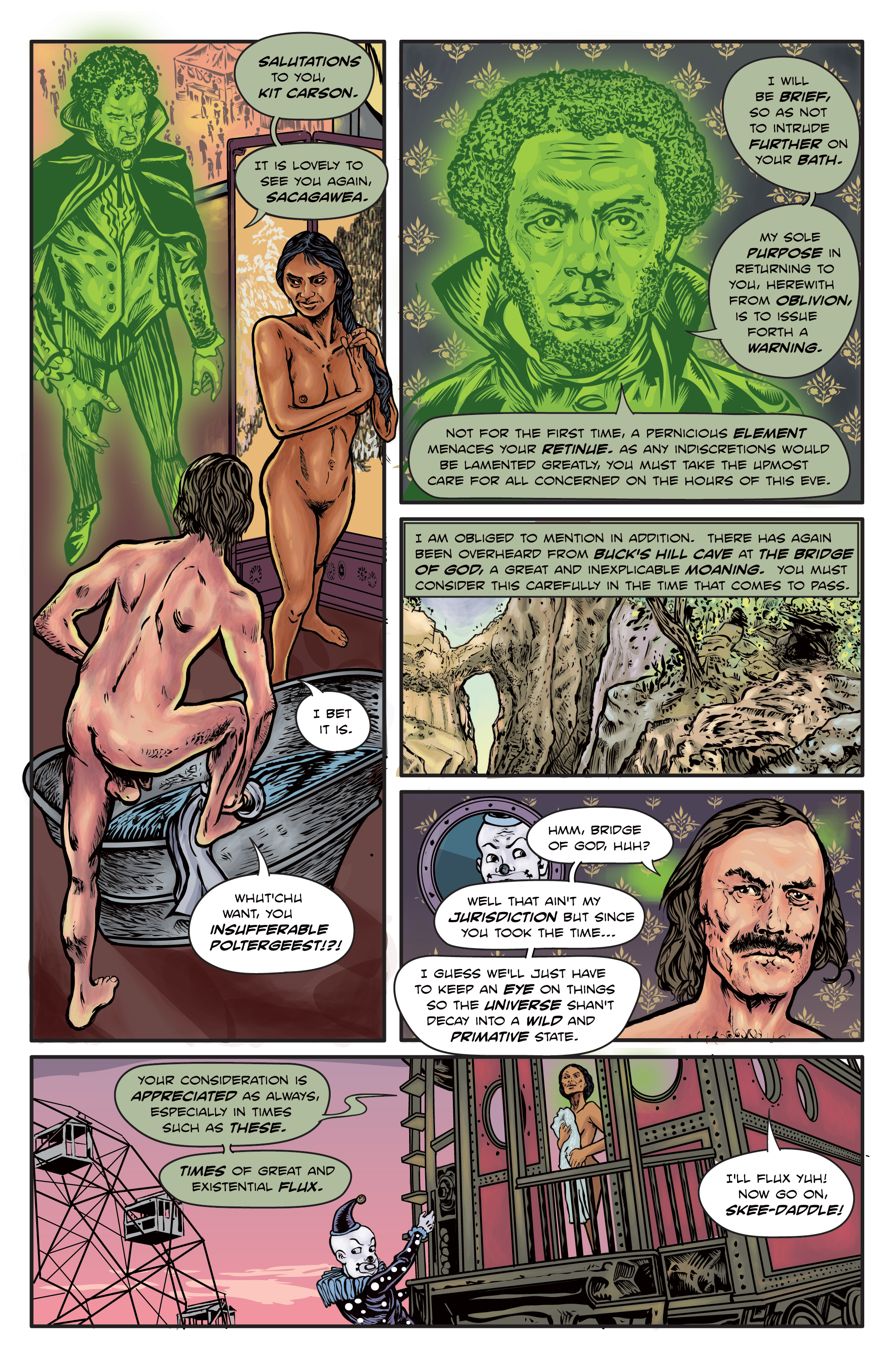 The Enchanted Dagger #5 – Page 5