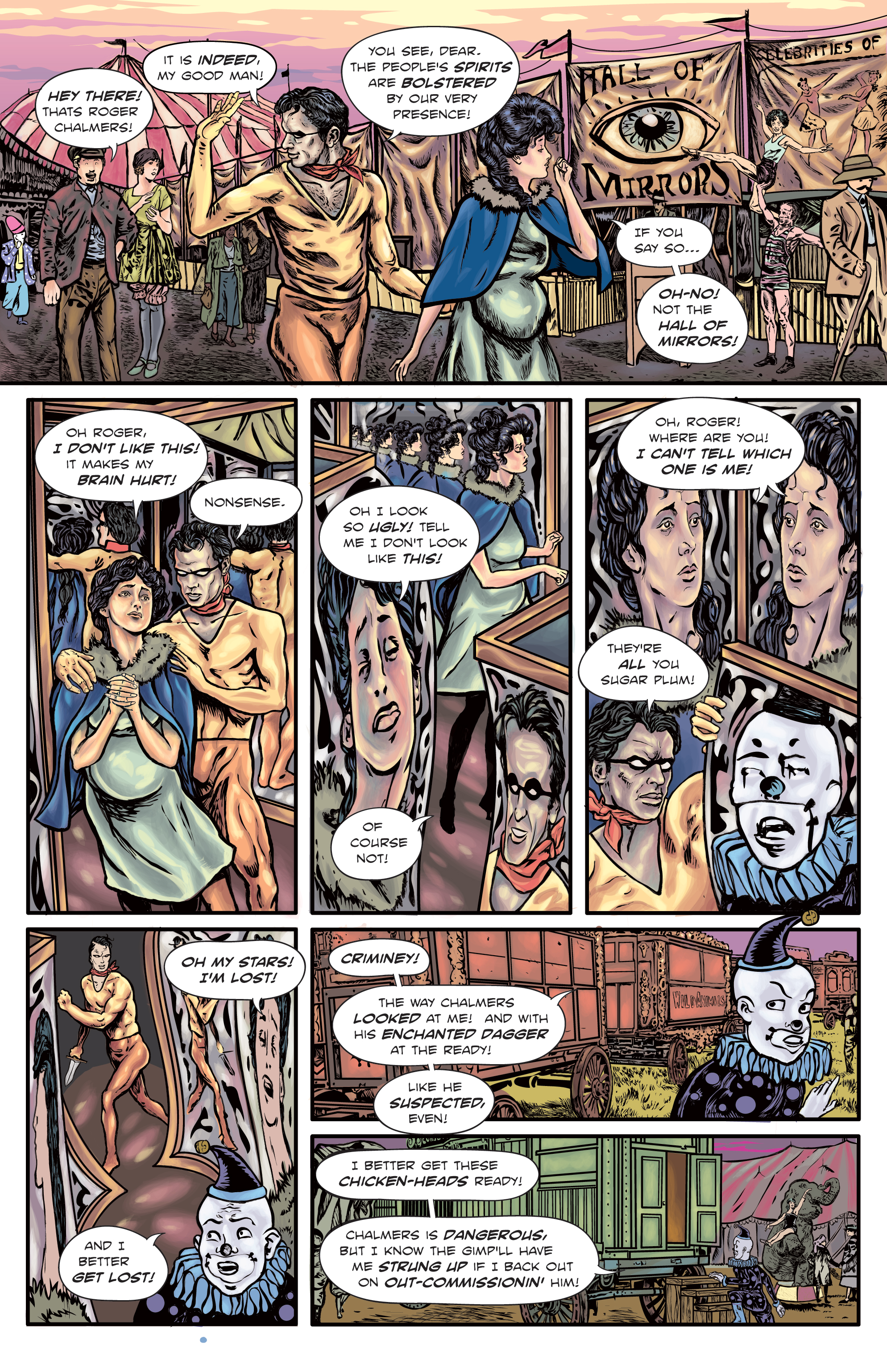 The Enchanted Dagger #5 – Page 6