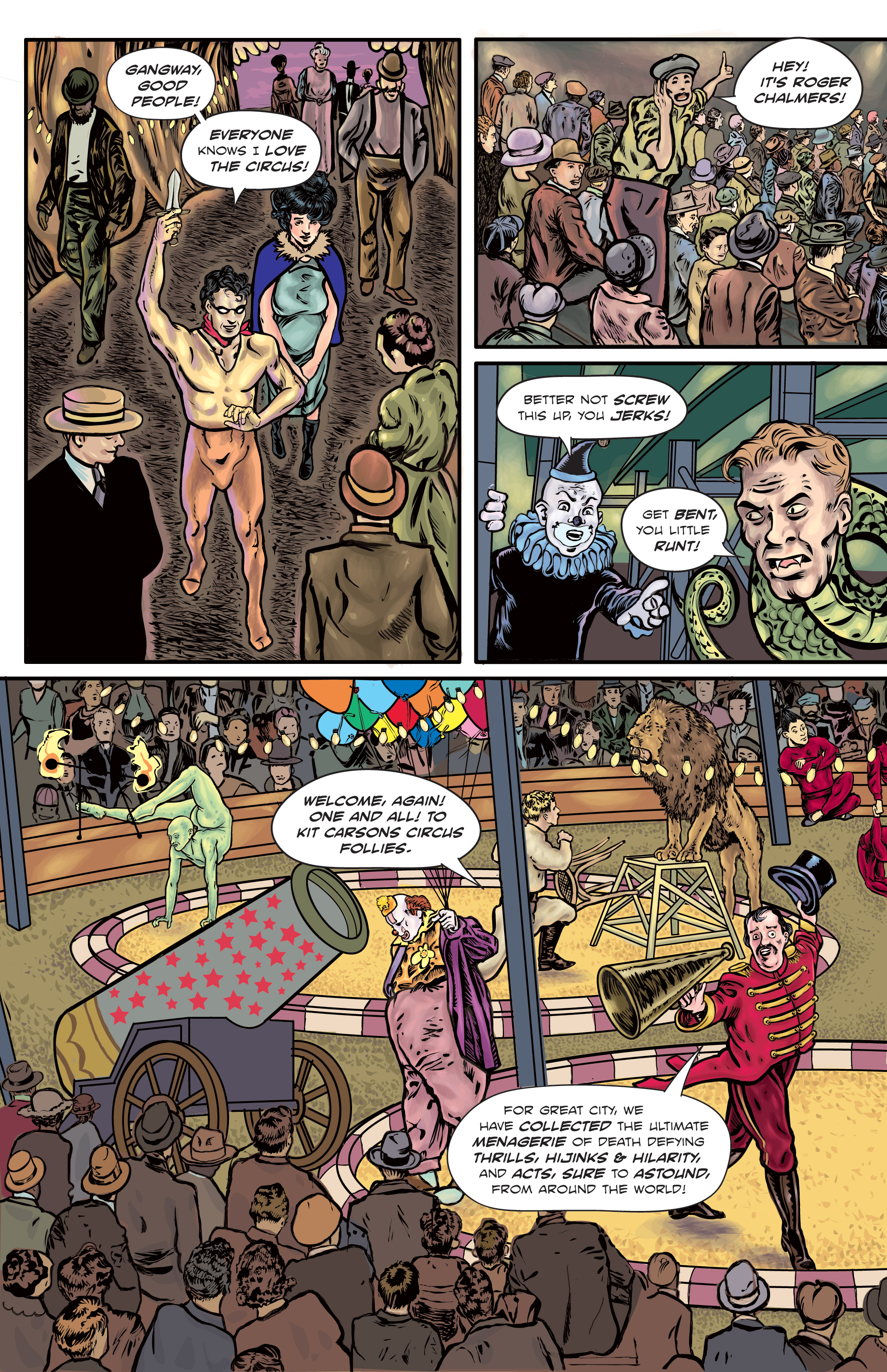 The Enchanted Dagger #5 – Page 8