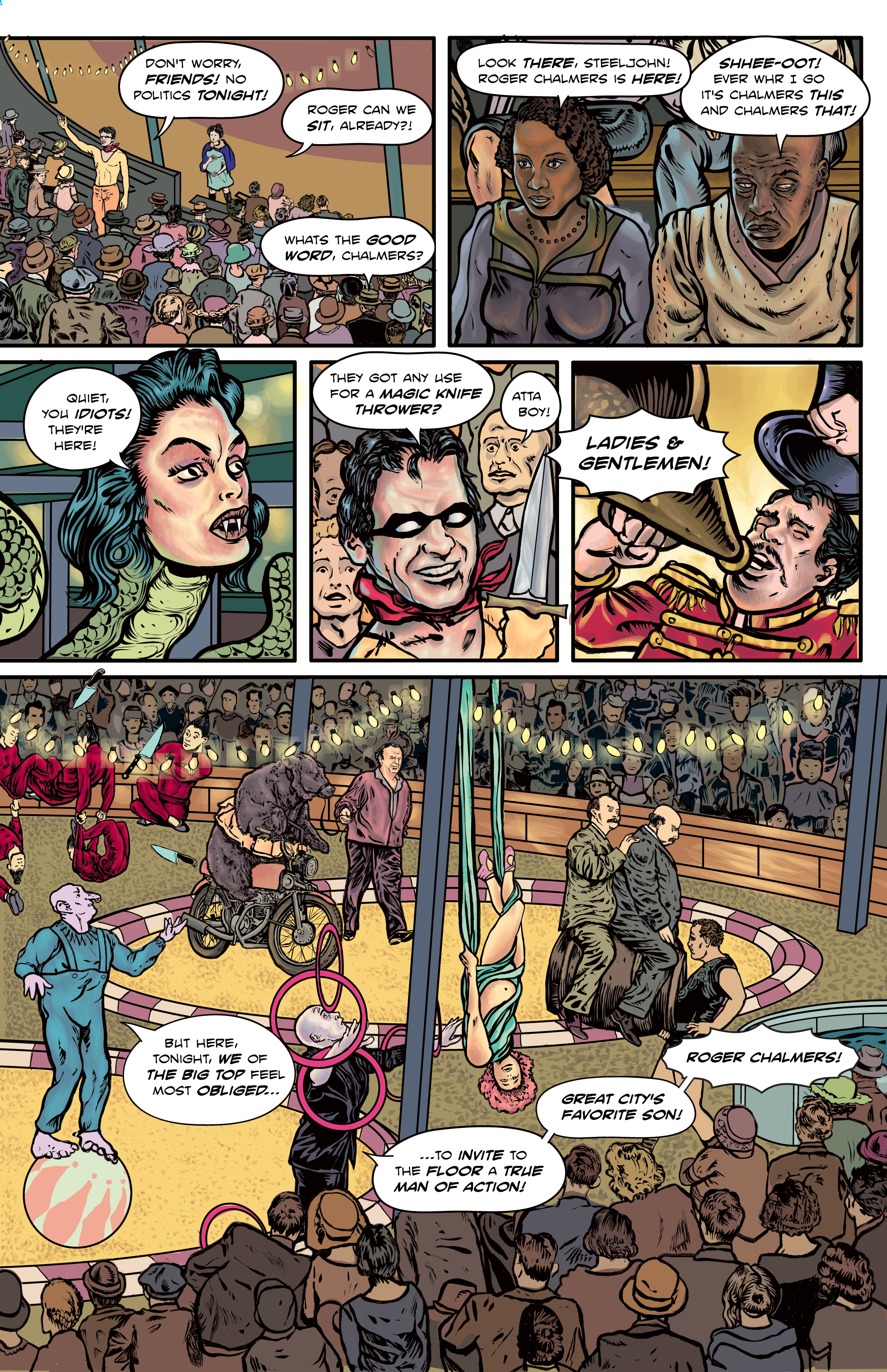 The Enchanted Dagger #5 – Page 9